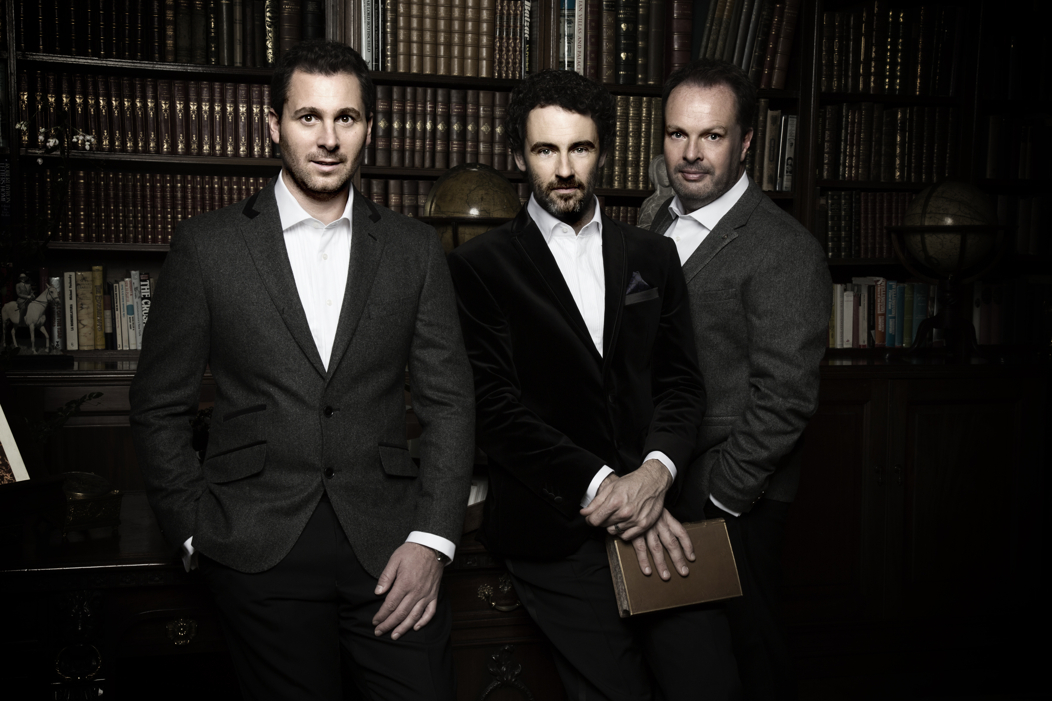 The Celtic Tenors perform Dec. 17 at the Rockwell Hall Performing Arts Center at Rockwell Hall, SUNY Buffalo State.