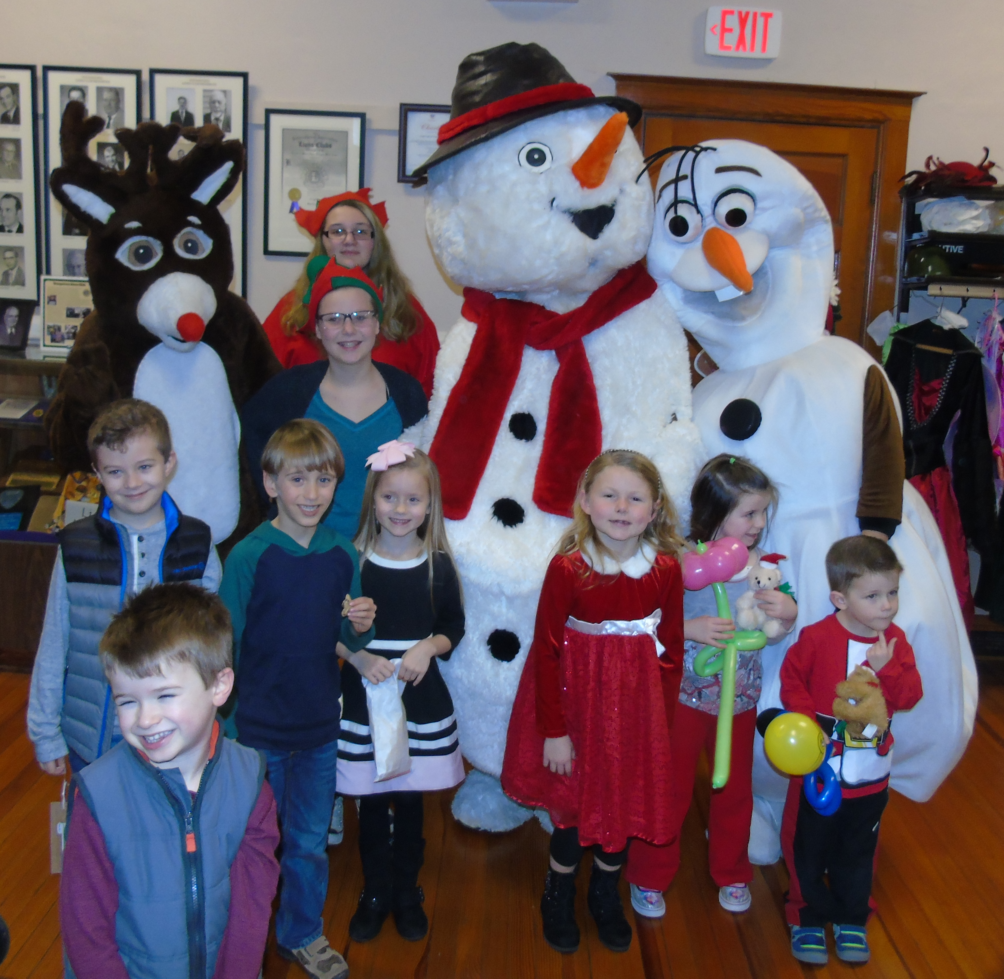 A children's party will be held as part of Youngstown's Christmas in the Village on Dec. 10. (Provided by the Youngstown Recreation Department)