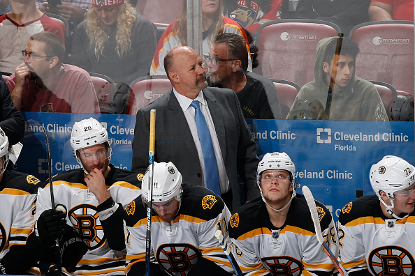 Coach Claude Julien's Boston Bruins are just 3-5-3 in their last 11 games (Getty Images).