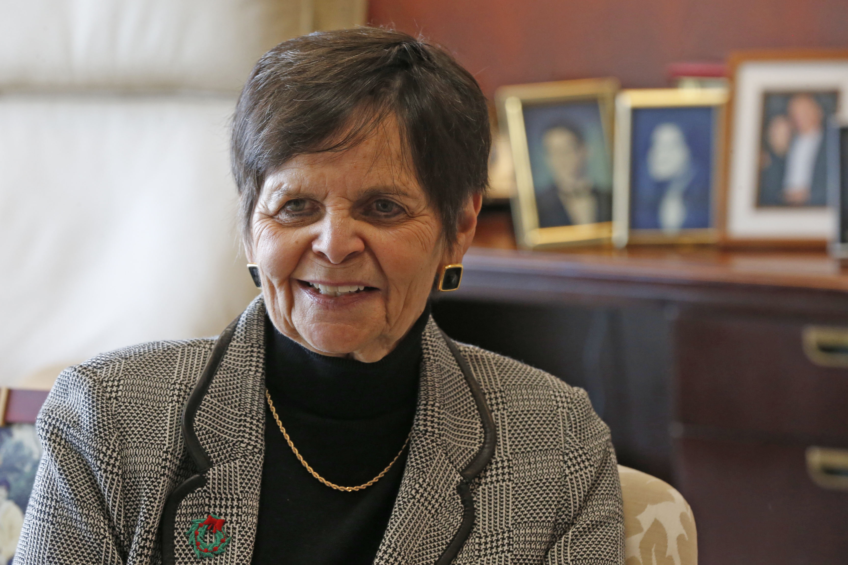Nancy Dobson will retire this month from her executive position at Uniland.. (Robert Kirkham/Buffalo News)
