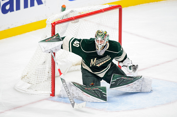 Minnesota goalie Devan Dubnyk entered the weekend leading the NHL with a 1.67 goals-against average and .944 save percentage (Getty Images).