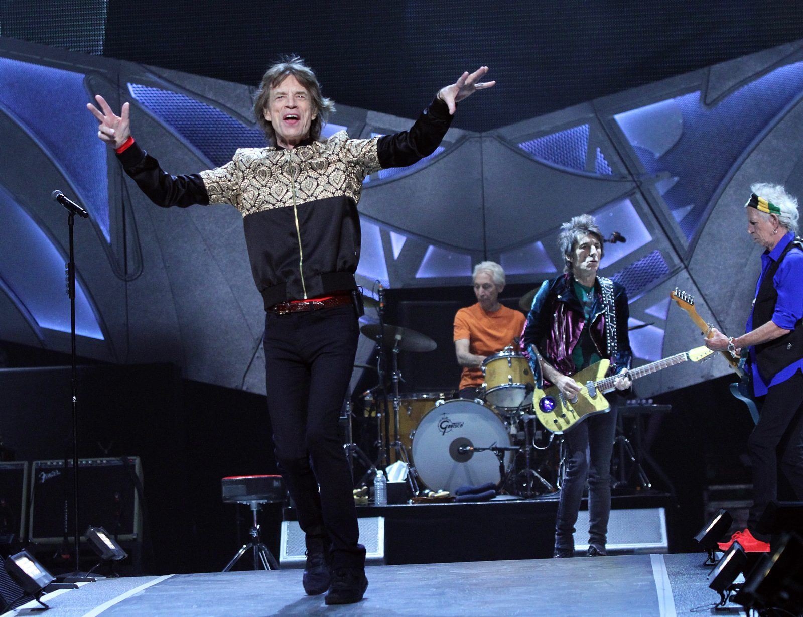 The Rolling Stones  in concert earlier this year in Las  Vegas. (Marcel Thomas/Zuma Press/TNS)