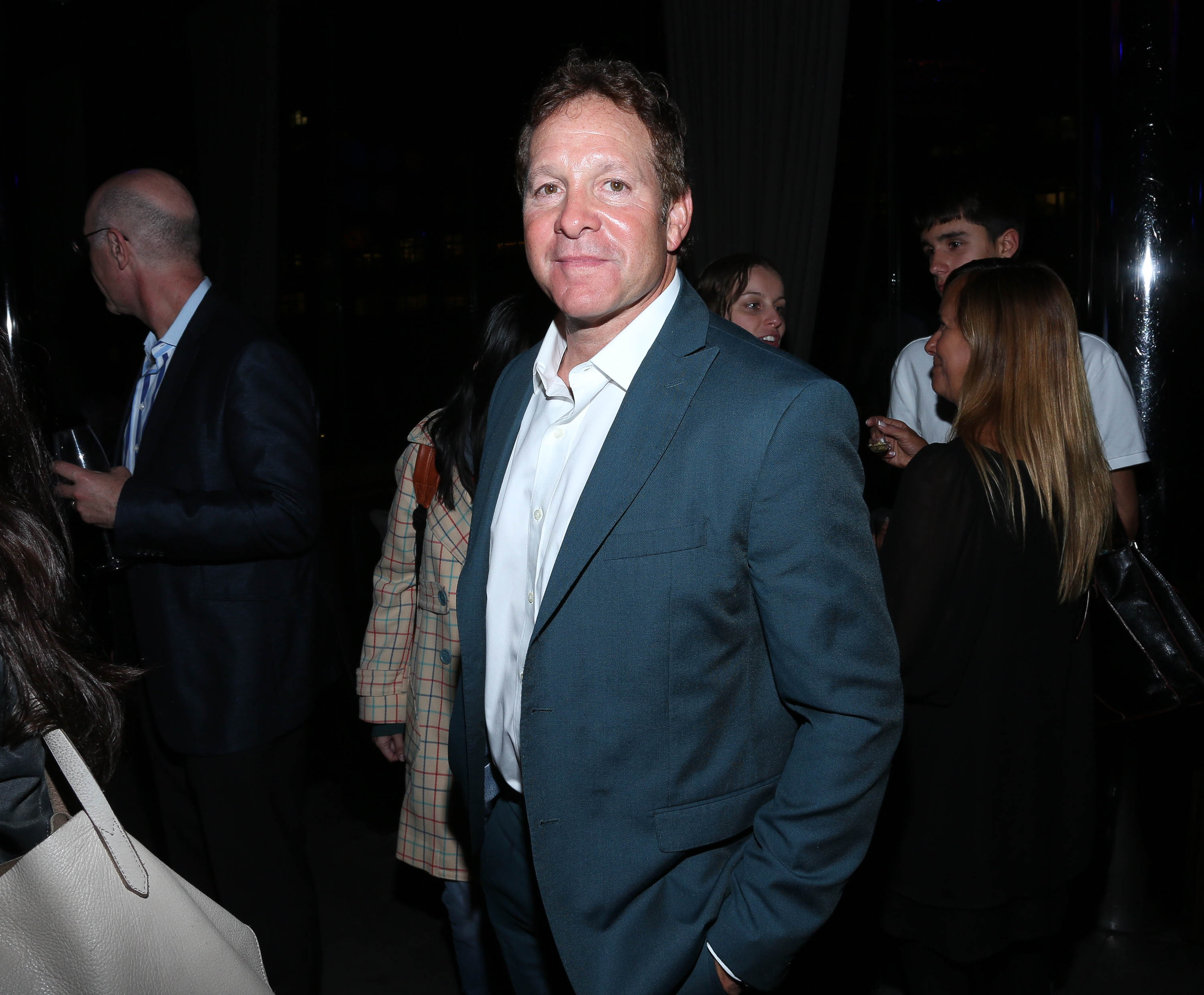 Grand Island native Emily Smith is engaged to actor Steve Guttenberg, shown attending the 2015 Tribeca Film Festival After Party. (Getty Images)
