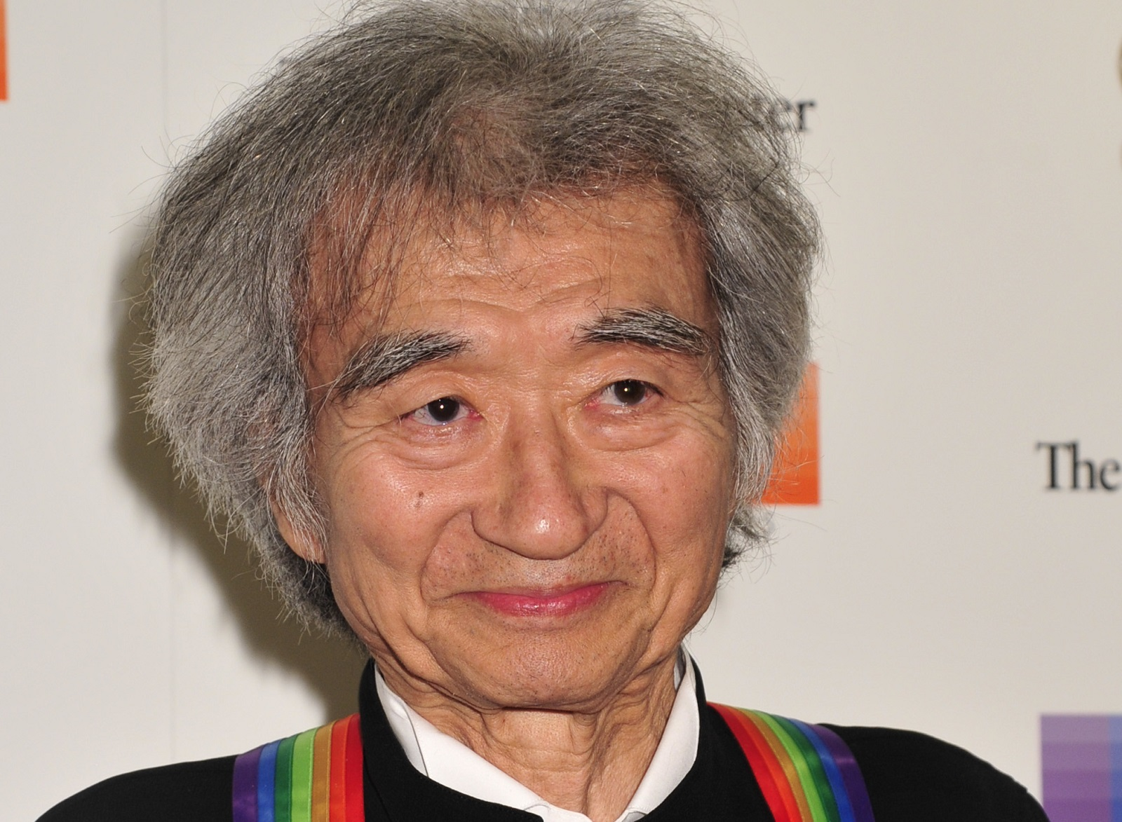 Seiji Ozawa at the 38th Annual Kennedy Center Honors Gala at the Kennedy Center for the Performing Arts in 2015. (Kris Connor/Getty Images)