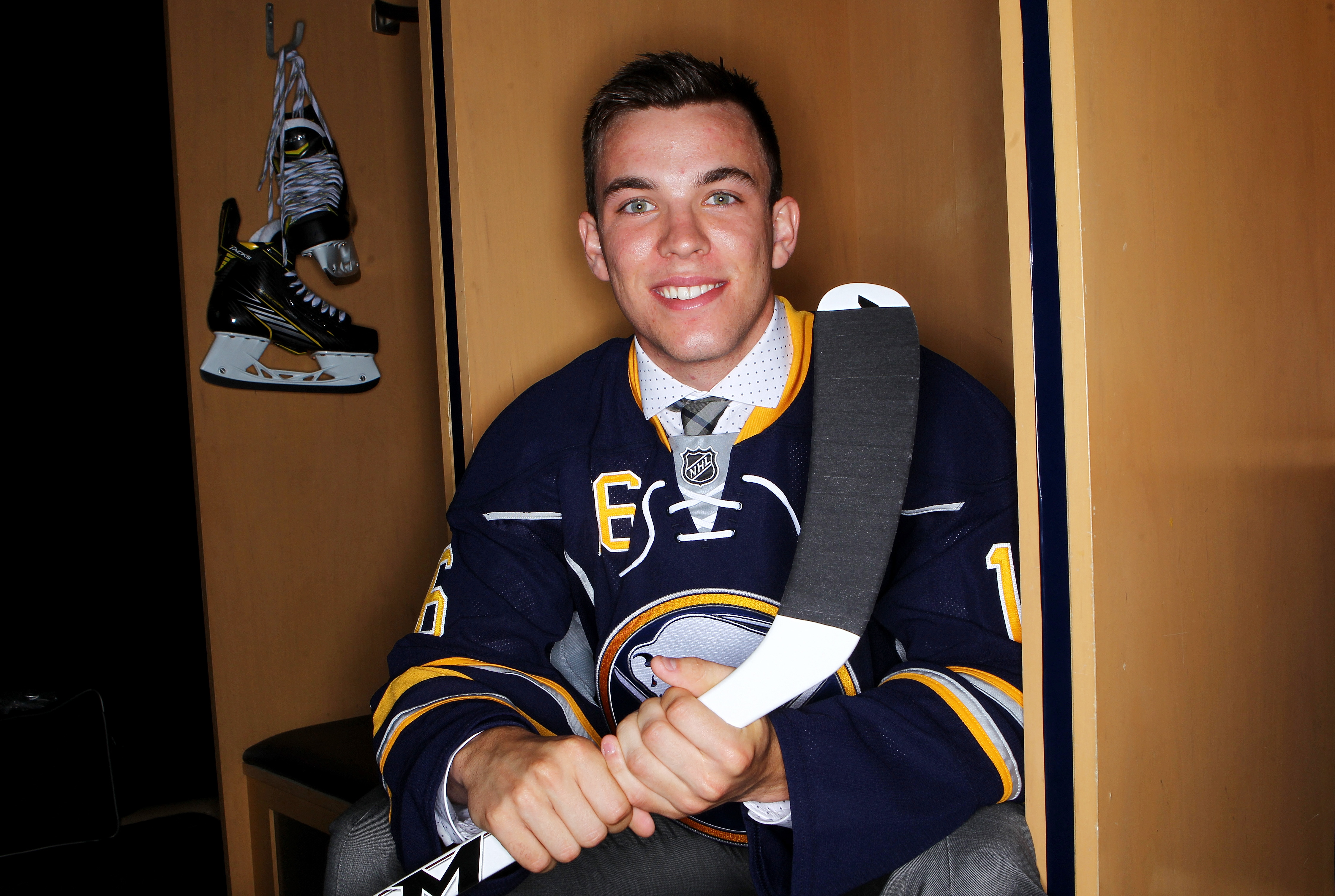 The Sabres drafted Casey Fitzgerald in the third round in June.  (Getty Images)