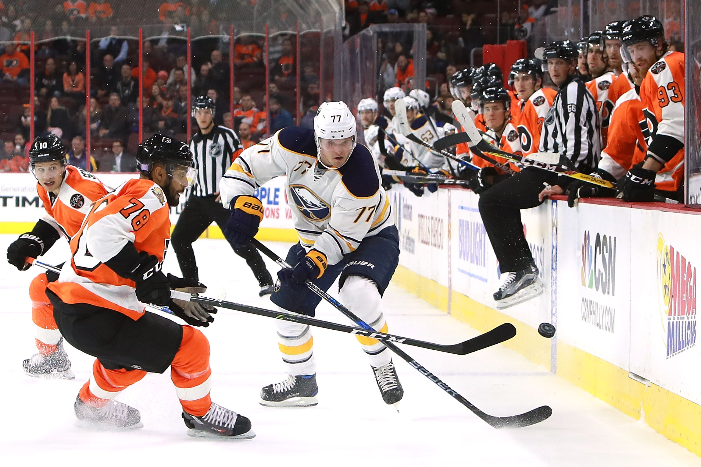 Dmitry Kulikov has missed 13 games with a back injury but could return Friday. (Getty Images)