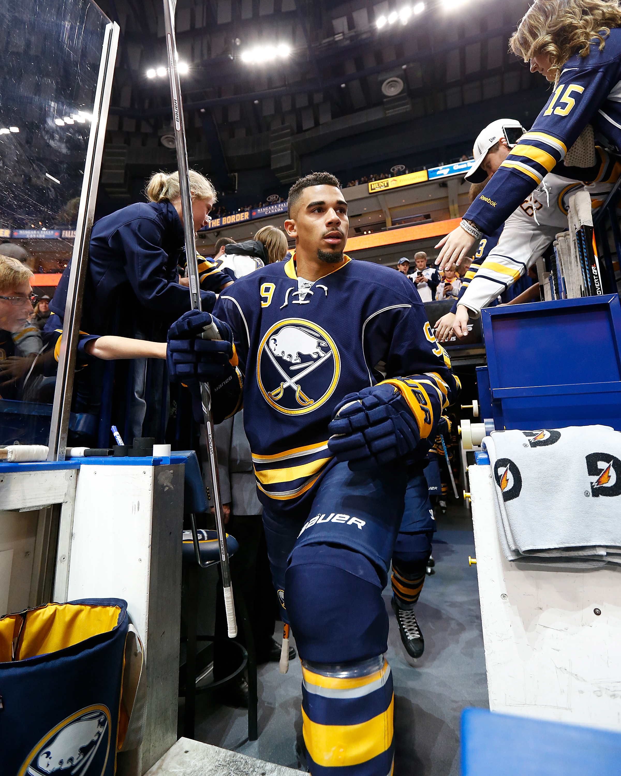 Evander Kane has dropped from 4.2 shots per game to 2.4. (Getty Images)