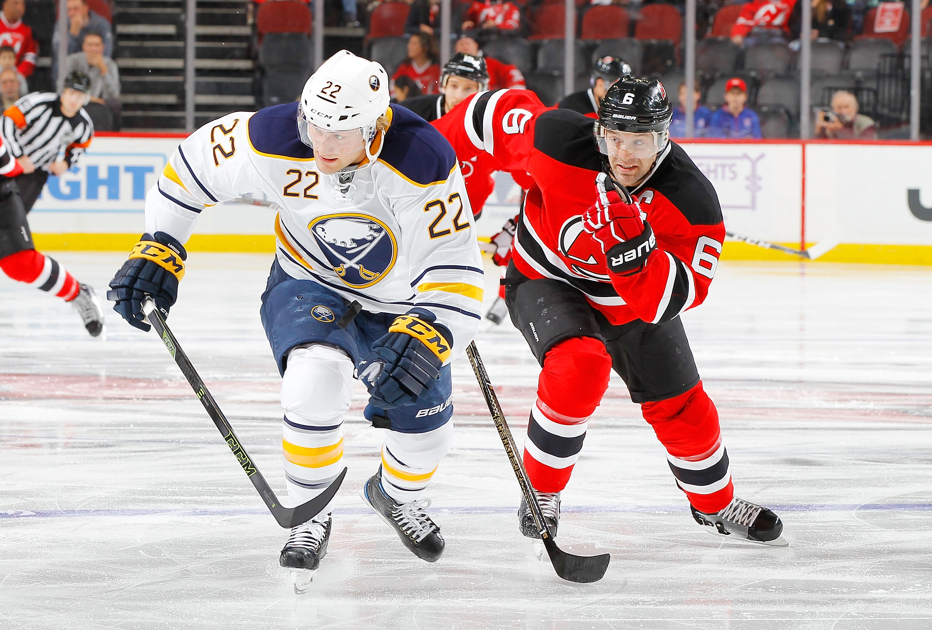 Sabres center Johan Larsson has two goals and no assists in the last 16 games. (Getty Images)