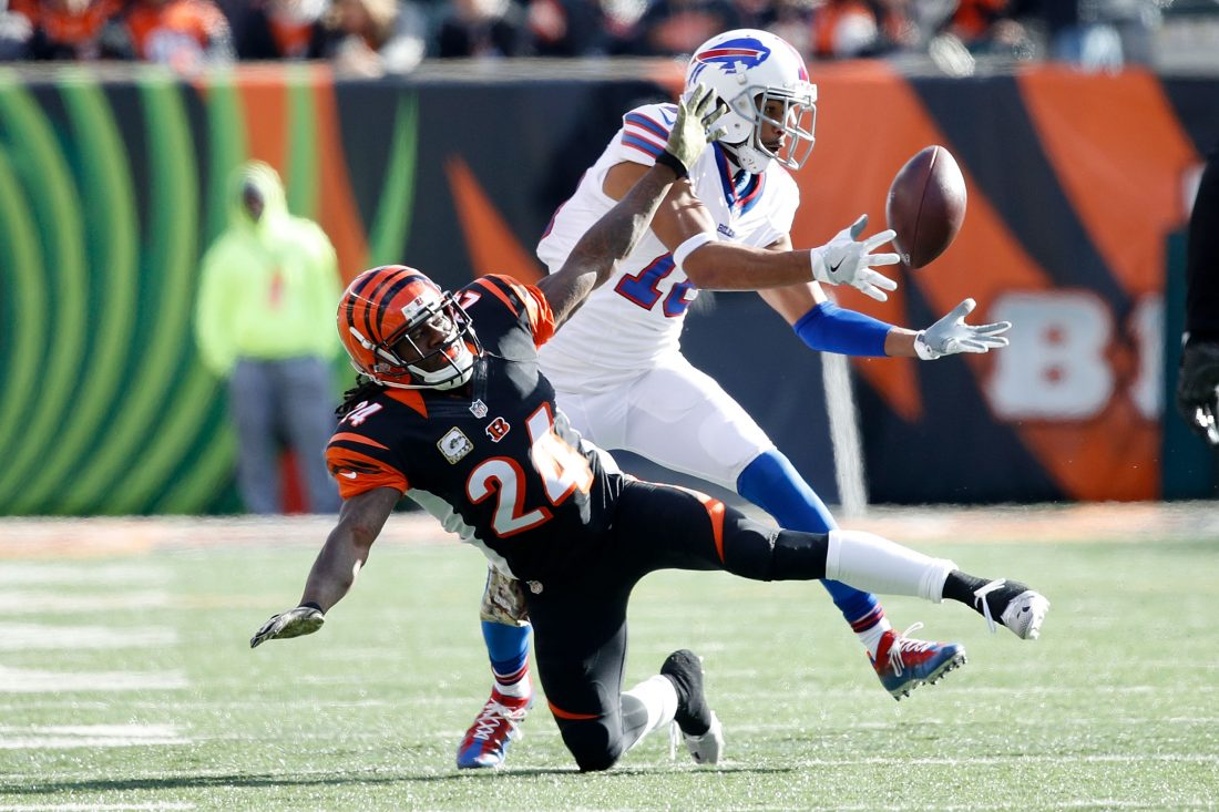 Robert Woods says the Bills' QB decision will factor into whether he wants to return to the team. (Getty Images)