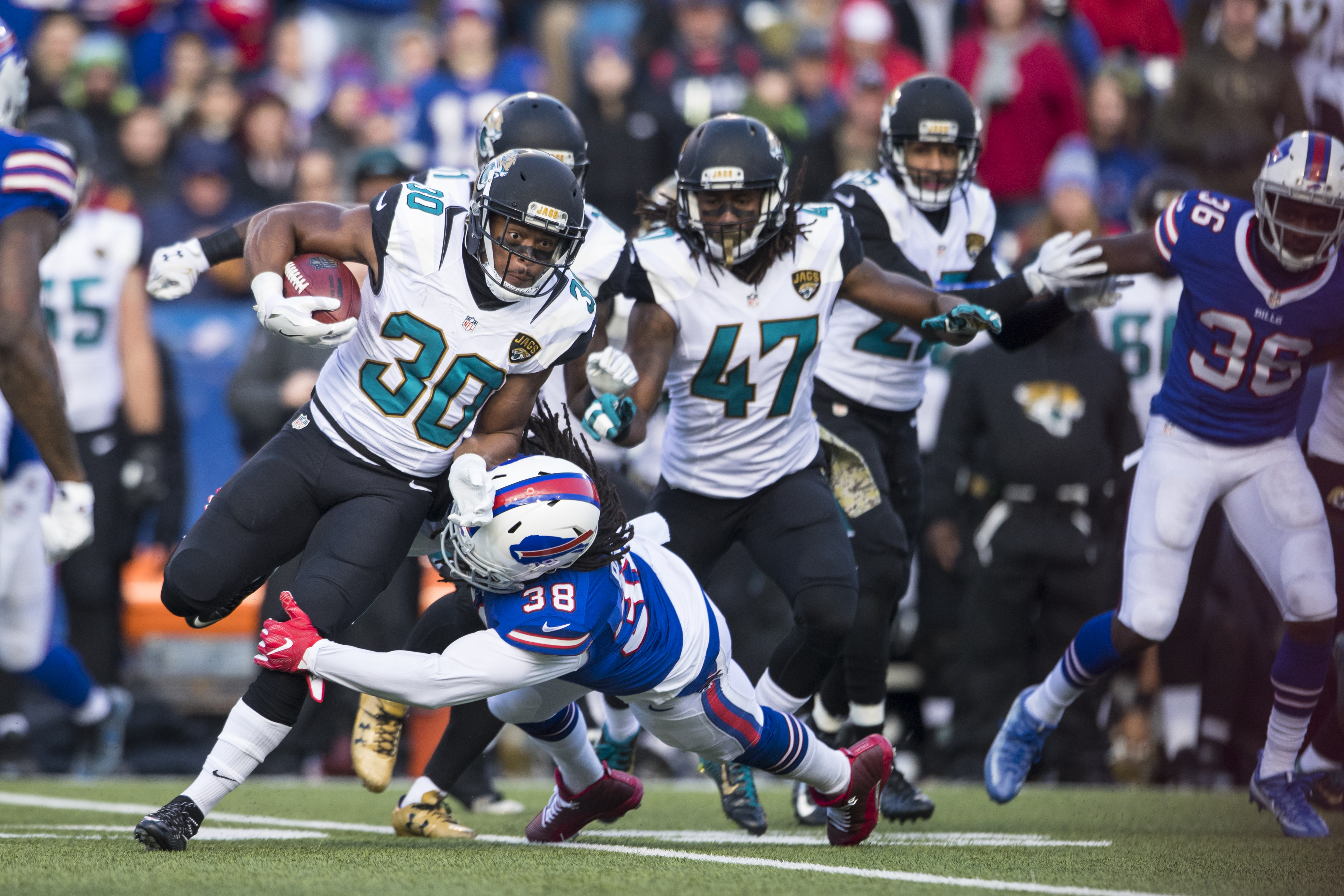 Bills safety Sergio Brown (38) loves to travel during the offseason. (Getty Images)