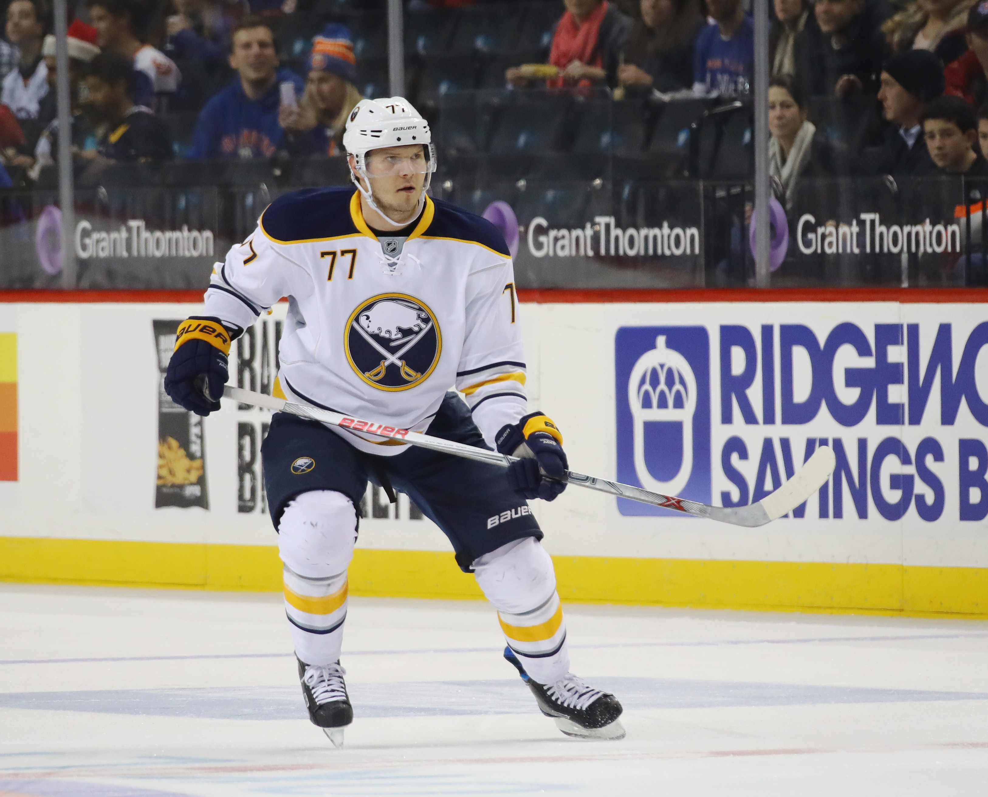 A lingering injury has prevented Dmitry Kulikov from making a difference for the Sabres. (Getty Images)