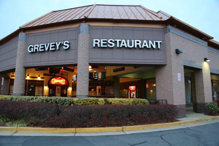The exterior of Grevey's in Merrifield, Va. (Eric Cortellessa)