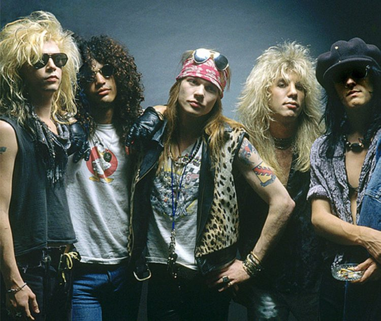 The Appetite for Destruction days (Buffalo News file photo)