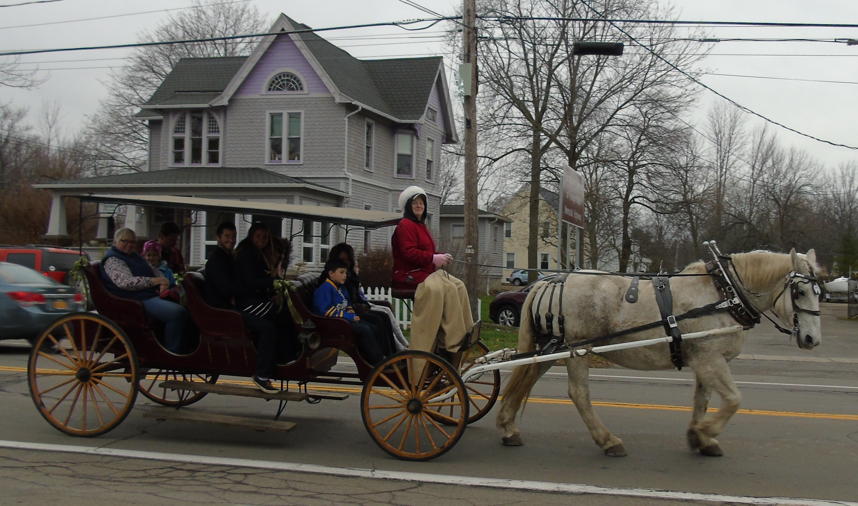 Carriage rides will be offered at Youngstown's Christmas in the Village. (Provided by the Youngstown Recreation Department)