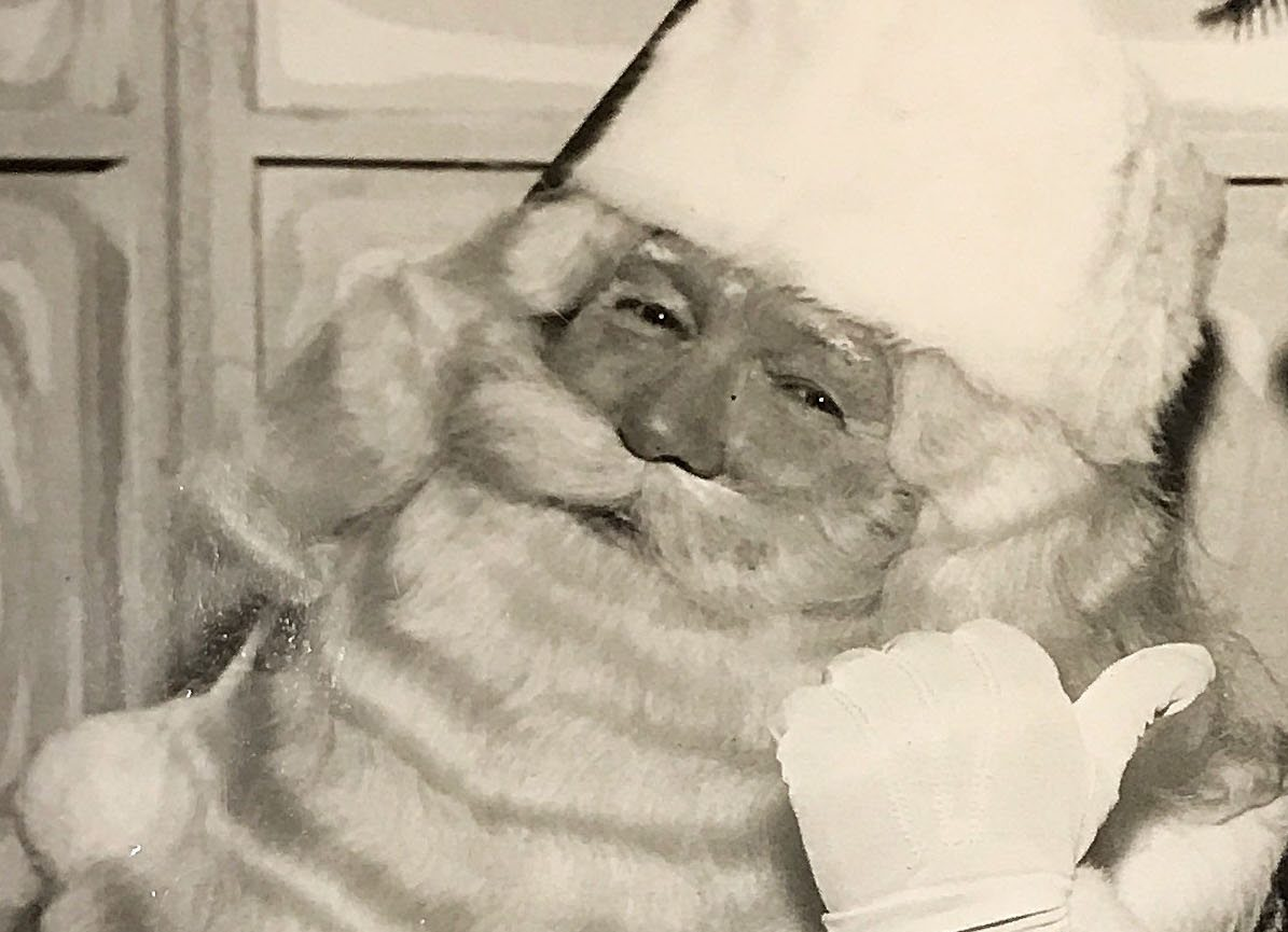 Albion native Charles W. Howard was the No. 1 Santa Claus in the nation in 1966.