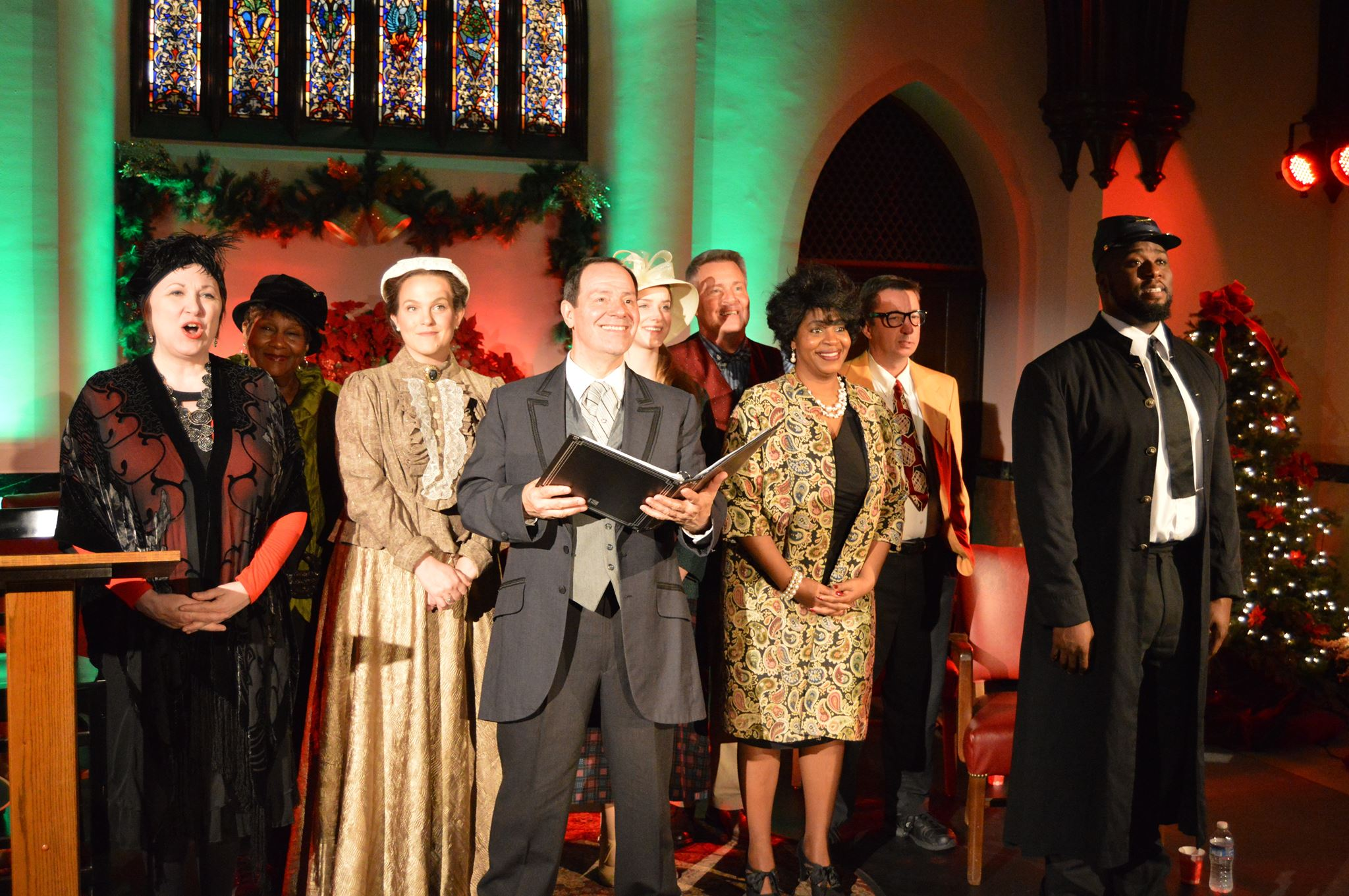 """The cast of """"It WAS a Wonderful Life"""" performs through Dec. 31."""