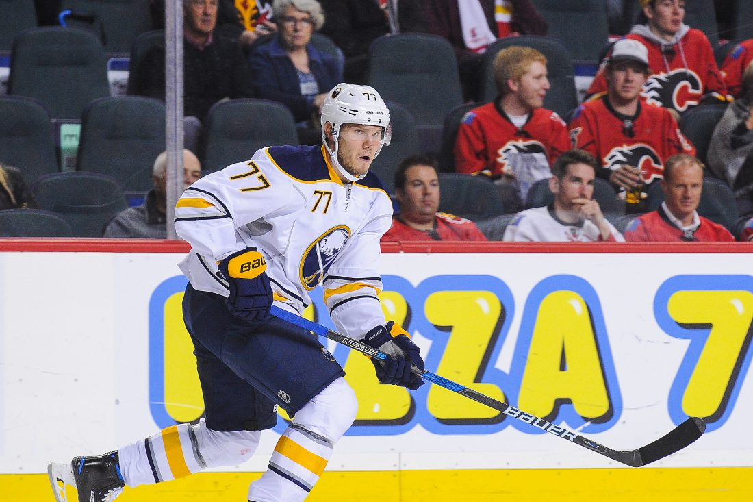 Dmitry Kulikov returned to practice Sunday and hopes to play in a game this week (Getty Images).