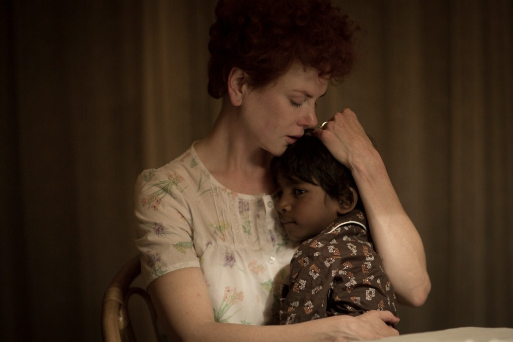 Nicole Kidman and young Sunny Pawar star in the emotional true story 'Lion.'