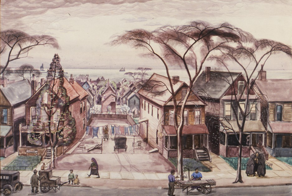 (Charles E. Burchfield Archives)