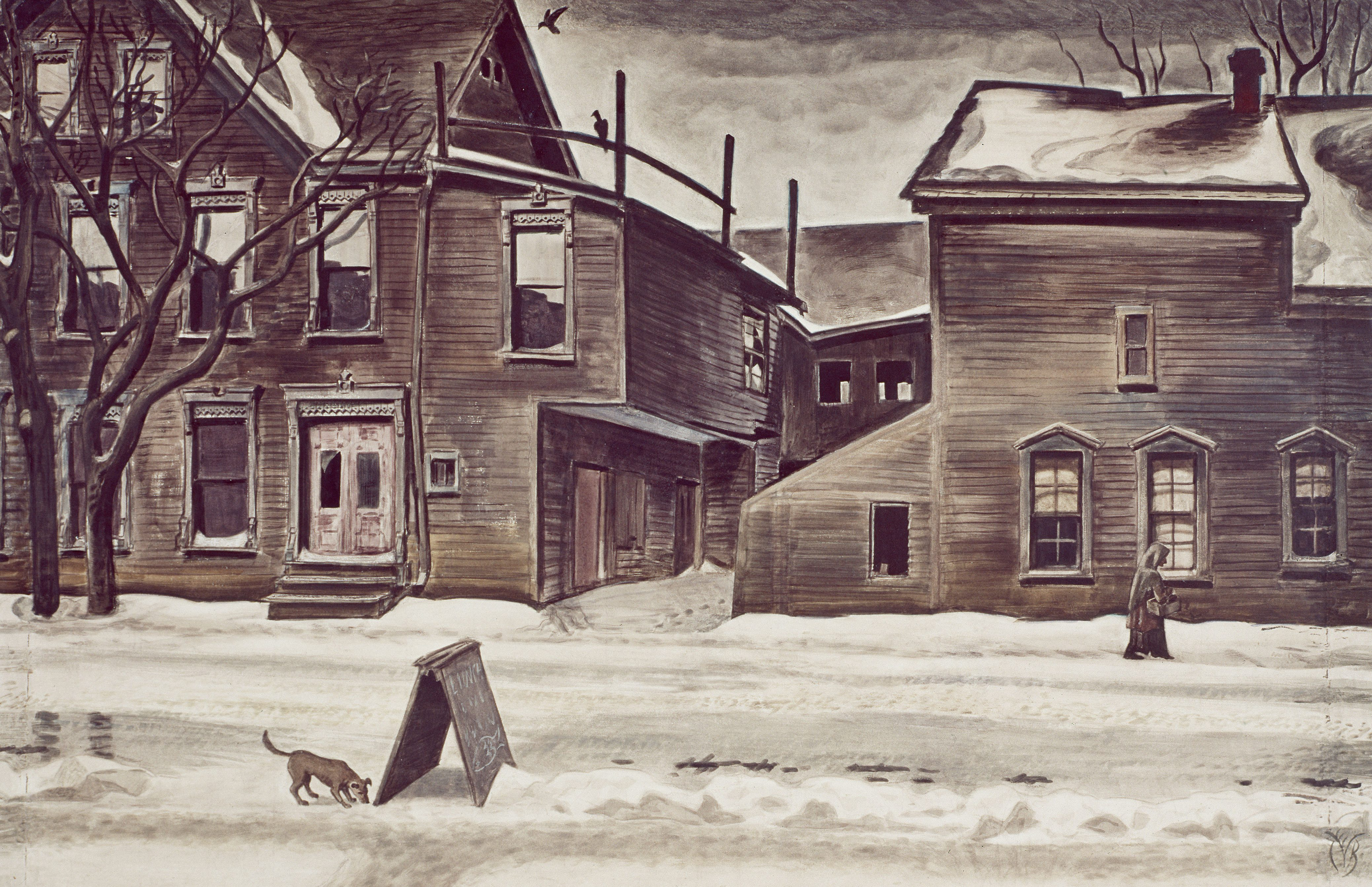 old-houses-in-winter-1929-1941-burchfield