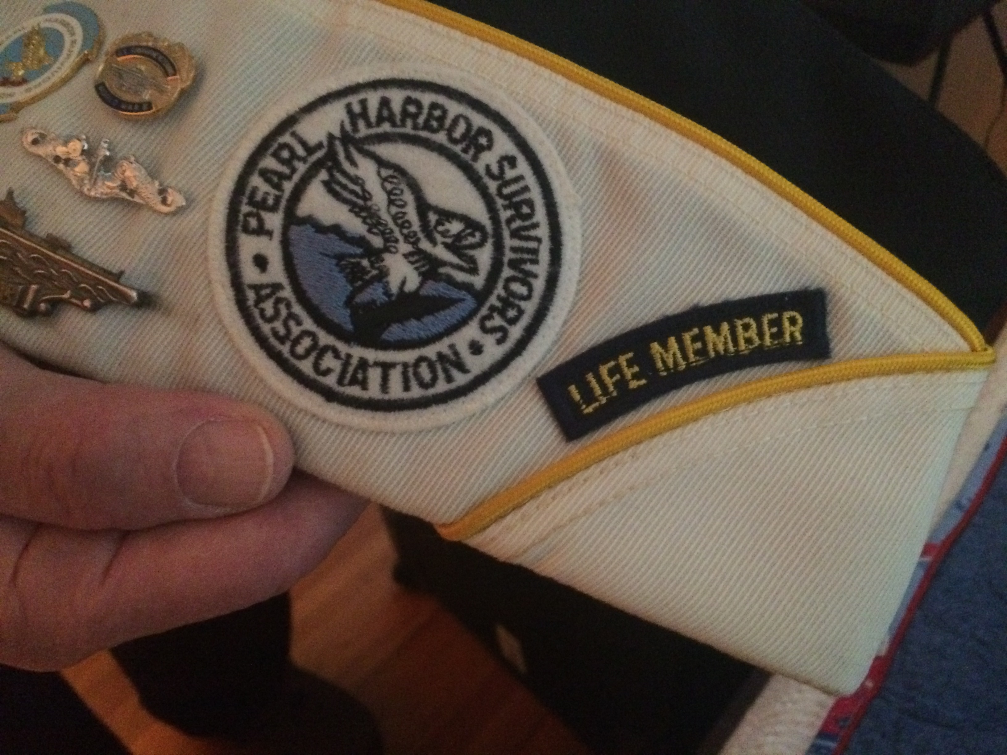 Ed Stone's cap: A Pearl Harbor survivor. (Sean Kirst/submitted image)
