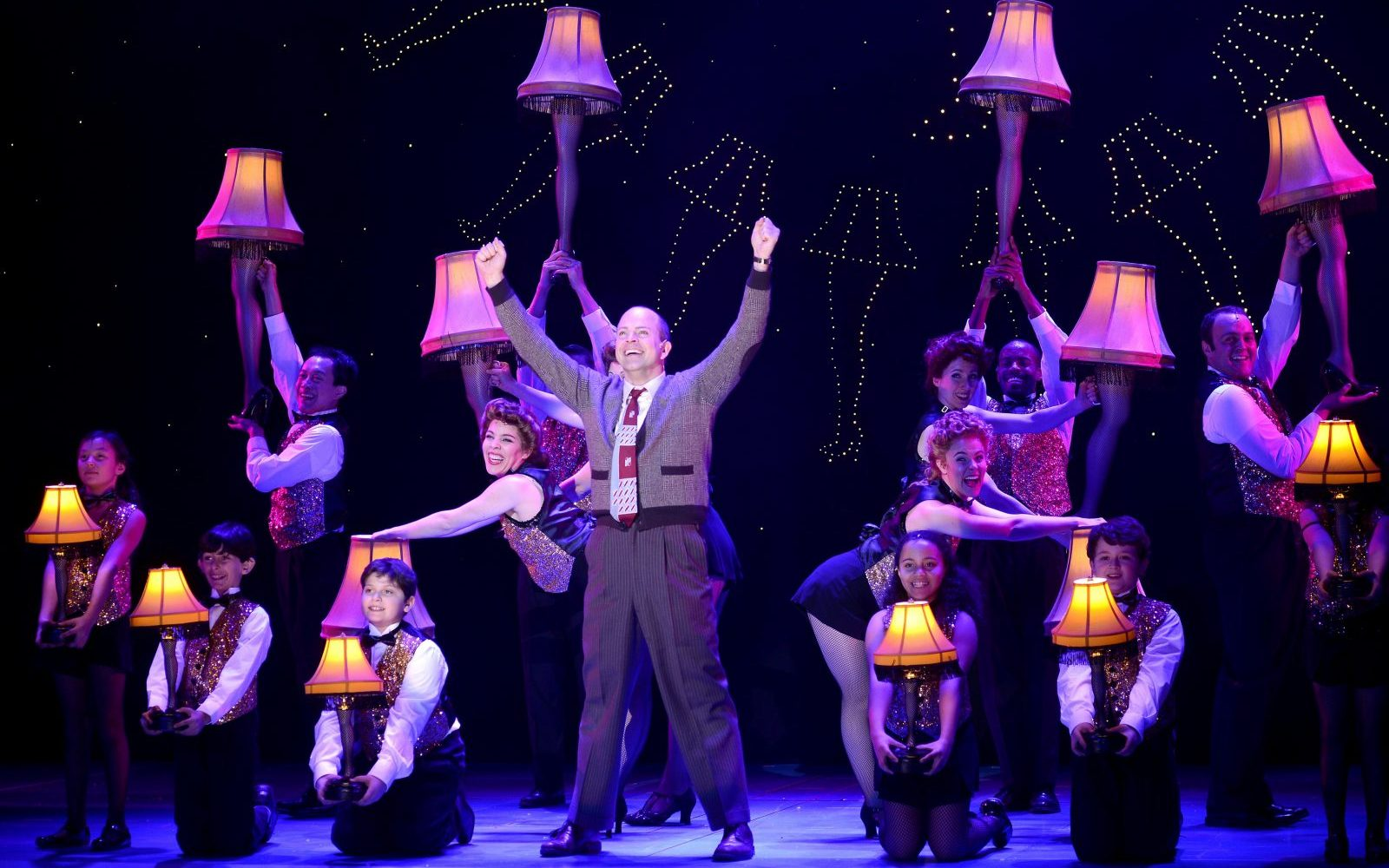 Christopher Swan stars as the Old Man in a touring production of 'A Christmas Story: The Musical.'