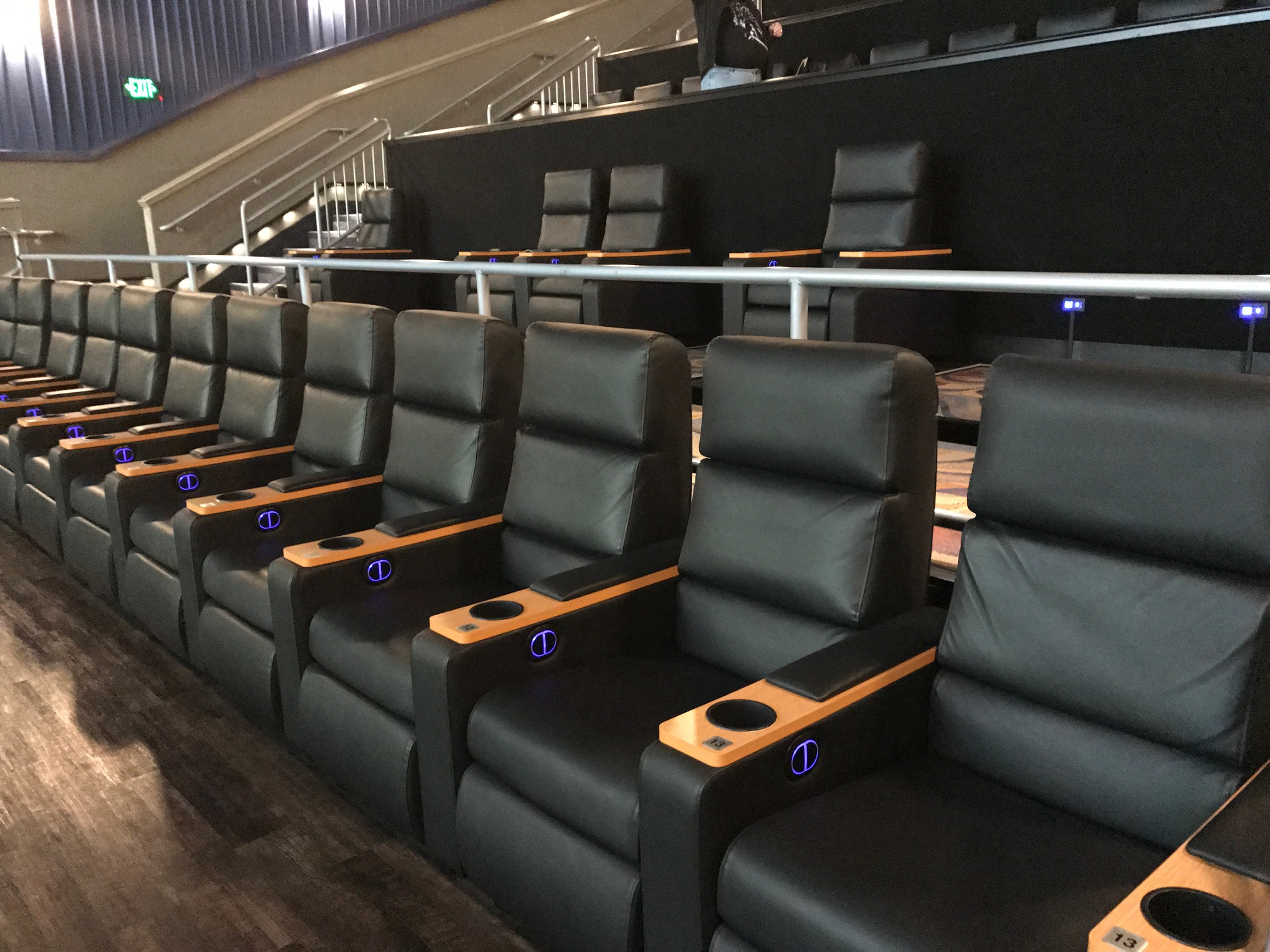 Regal has finished adding king-sized recliners inside theaters at the Walden Galleria (pictured) and Quaker Crossing. (Toni Ruberto/Buffalo News)