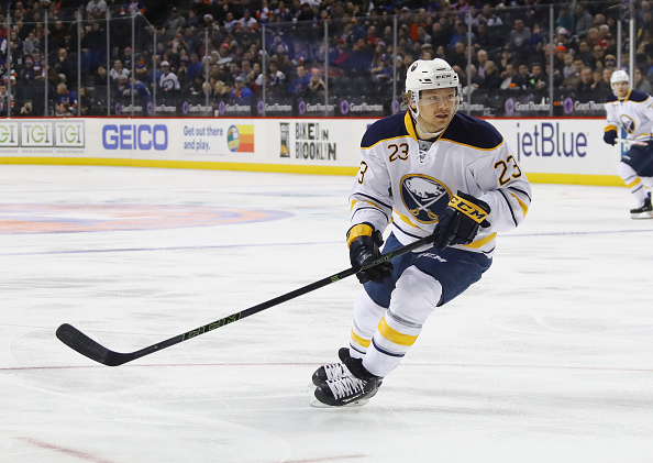 Sam Reinhart goes back to center with Ryan O'Reilly sidelined (Getty Images).