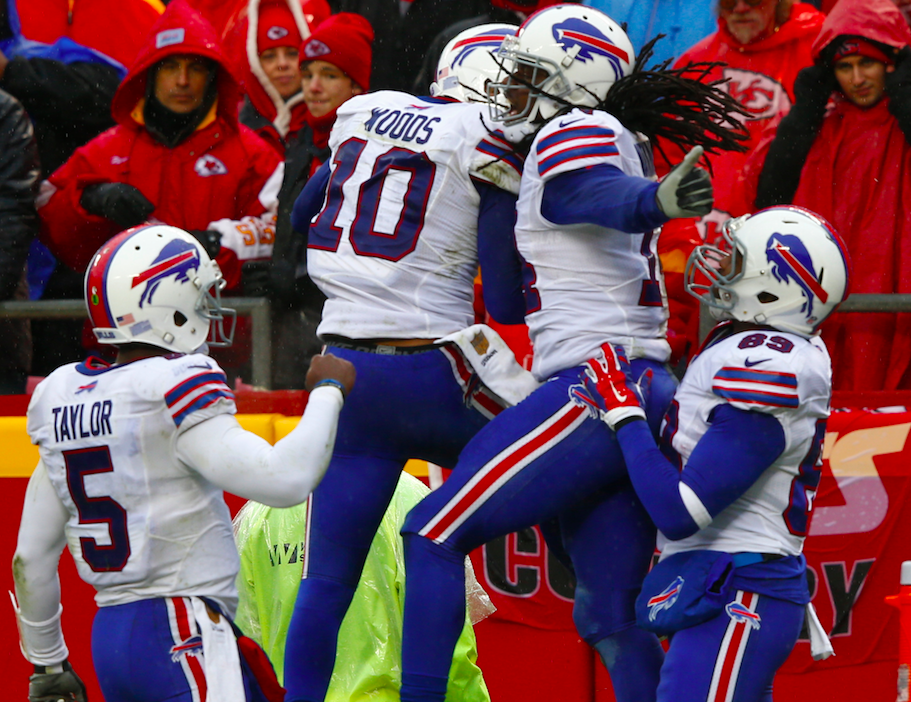 Robert Woods is leaving the Buffalo Bills after four seasons to return to the West Coast. (Getty Images)