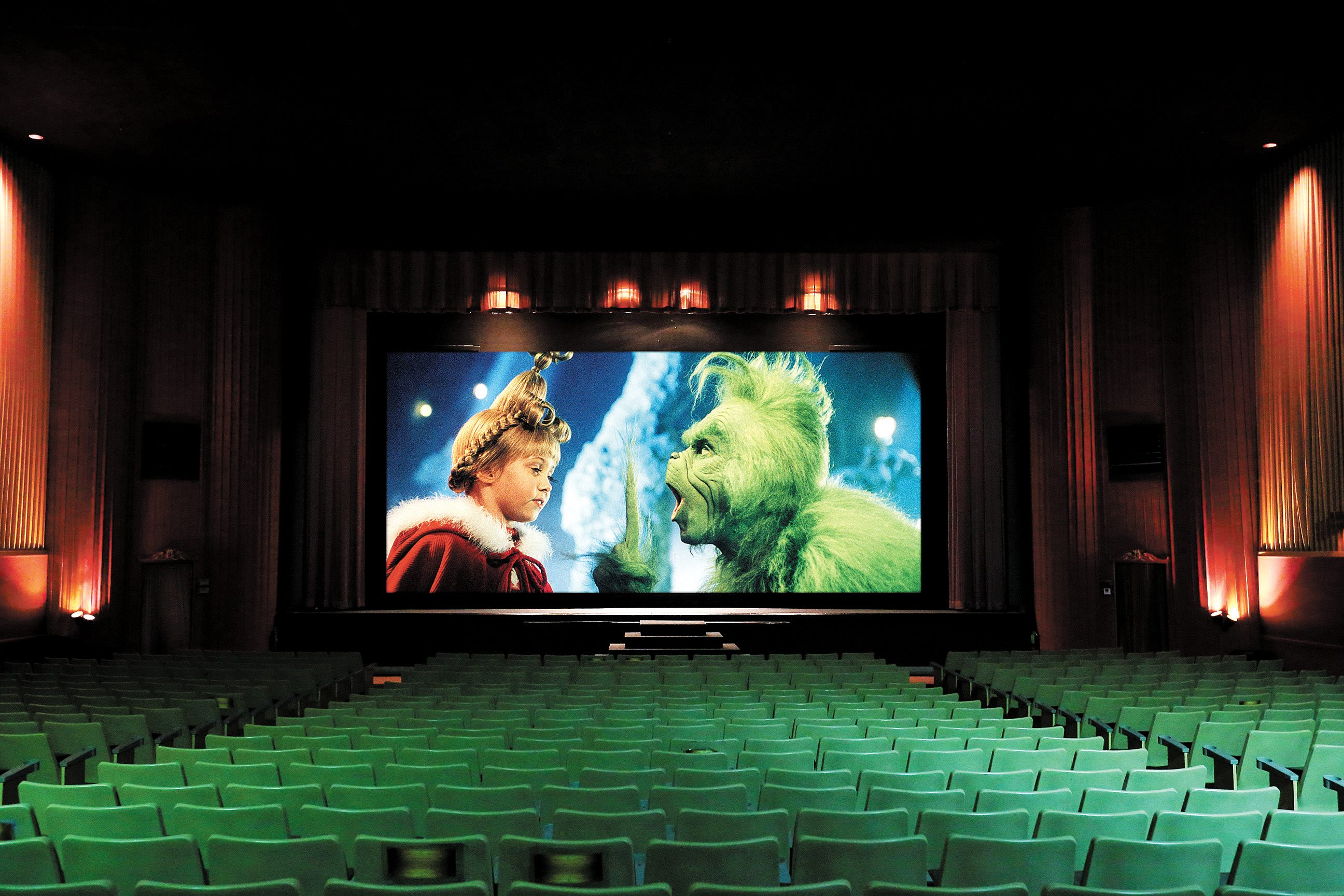 """Take the kids to see a family movie like """"How the Grinch Stole Christmas."""" (Mark Mulville/Buffalo News photo illustration)"""