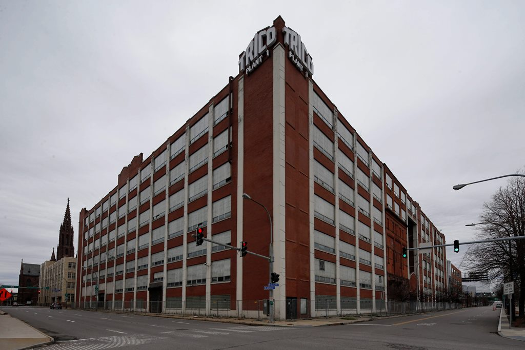 Krog Corp. has revised its plans for the former Trico building. (News file photo)