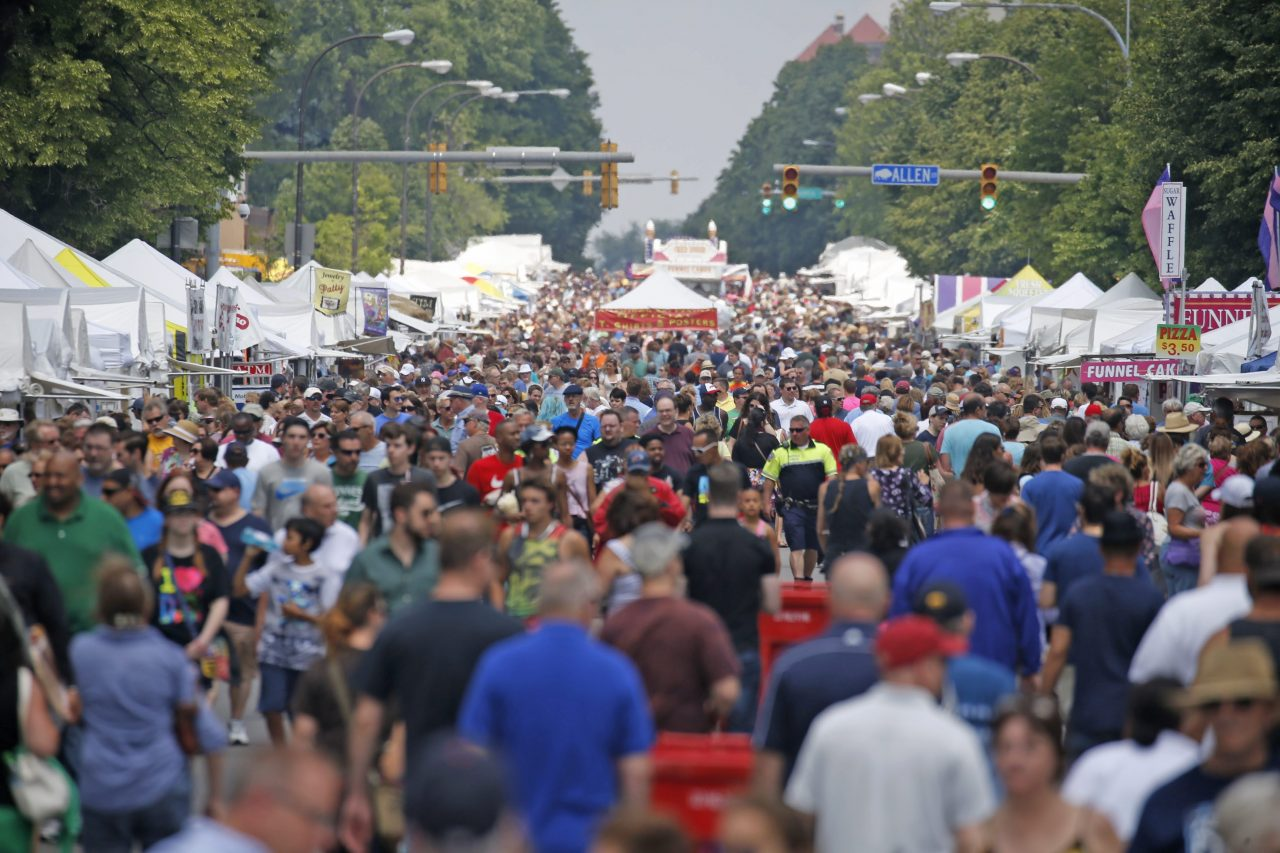 The Allentown Art Festival is one of the rites of our summer of festivals. (Robert Kirkham/News file photo)