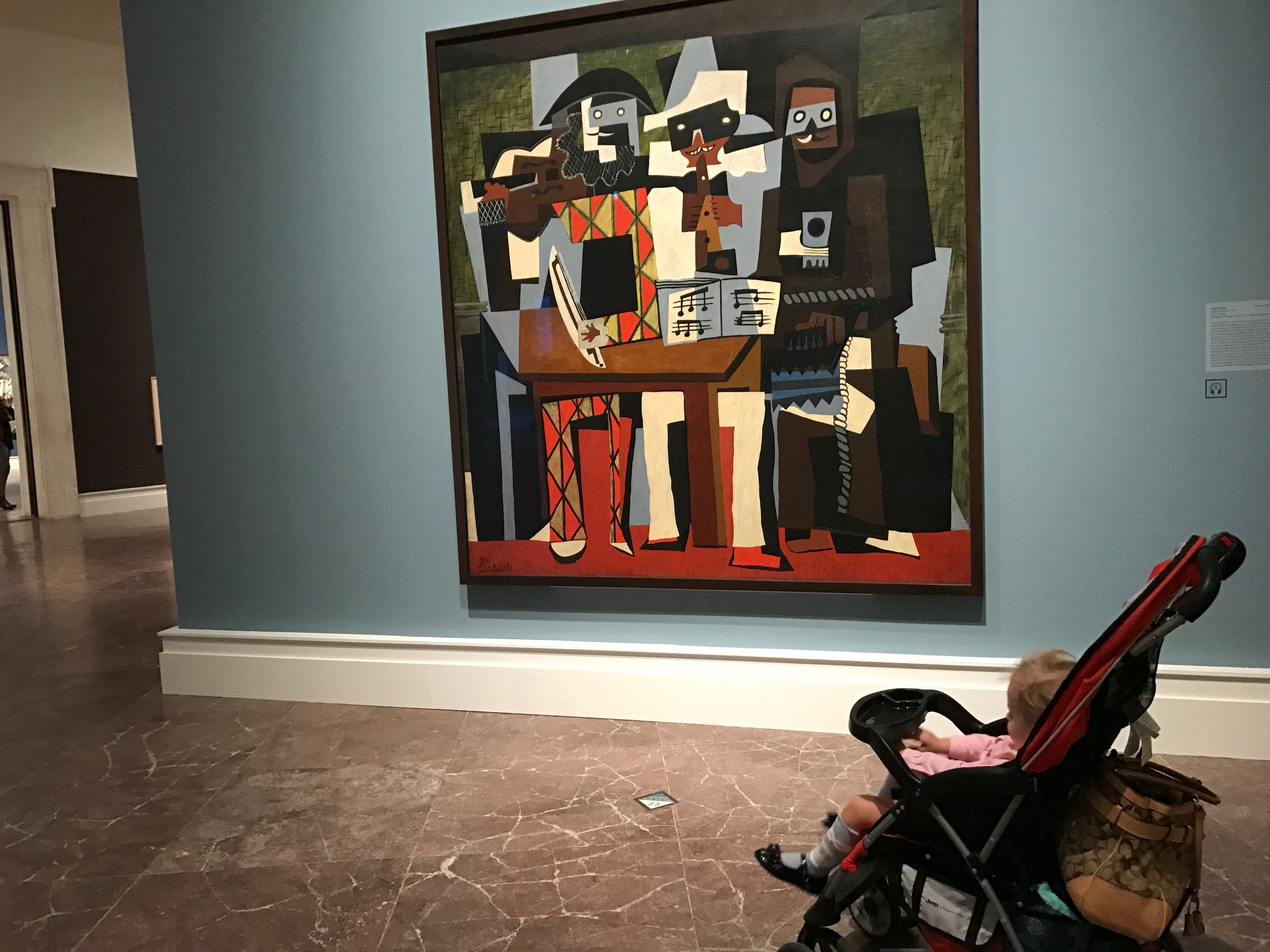 The art is priceless and so is the experience with your baby when you take a stroller tour at the Albright-Knox Art Gallery. (Mary Friona-Celani/Special to The News)