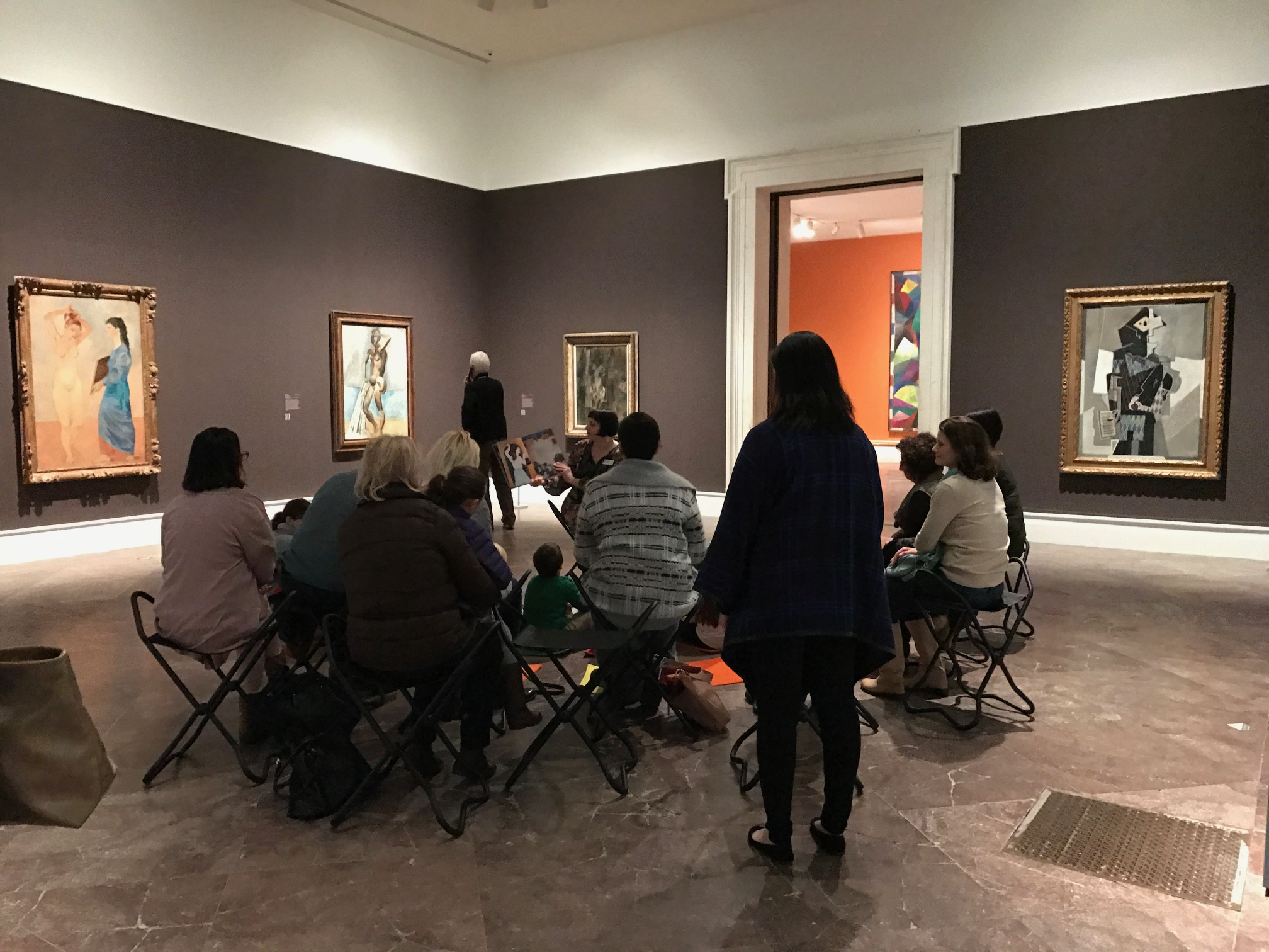 The Gallery offers a variety of fun events for kids. From story hour to art class to special tours. Mary Friona-Celani/Special to The News