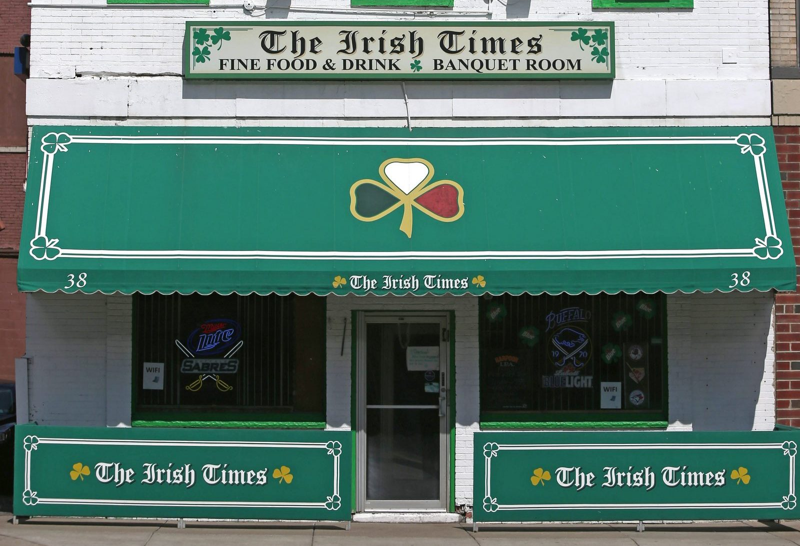 The Irish Times on Swan Street has been sold, and will become the Union Pub. (Robert Kirkham/Buffalo News)