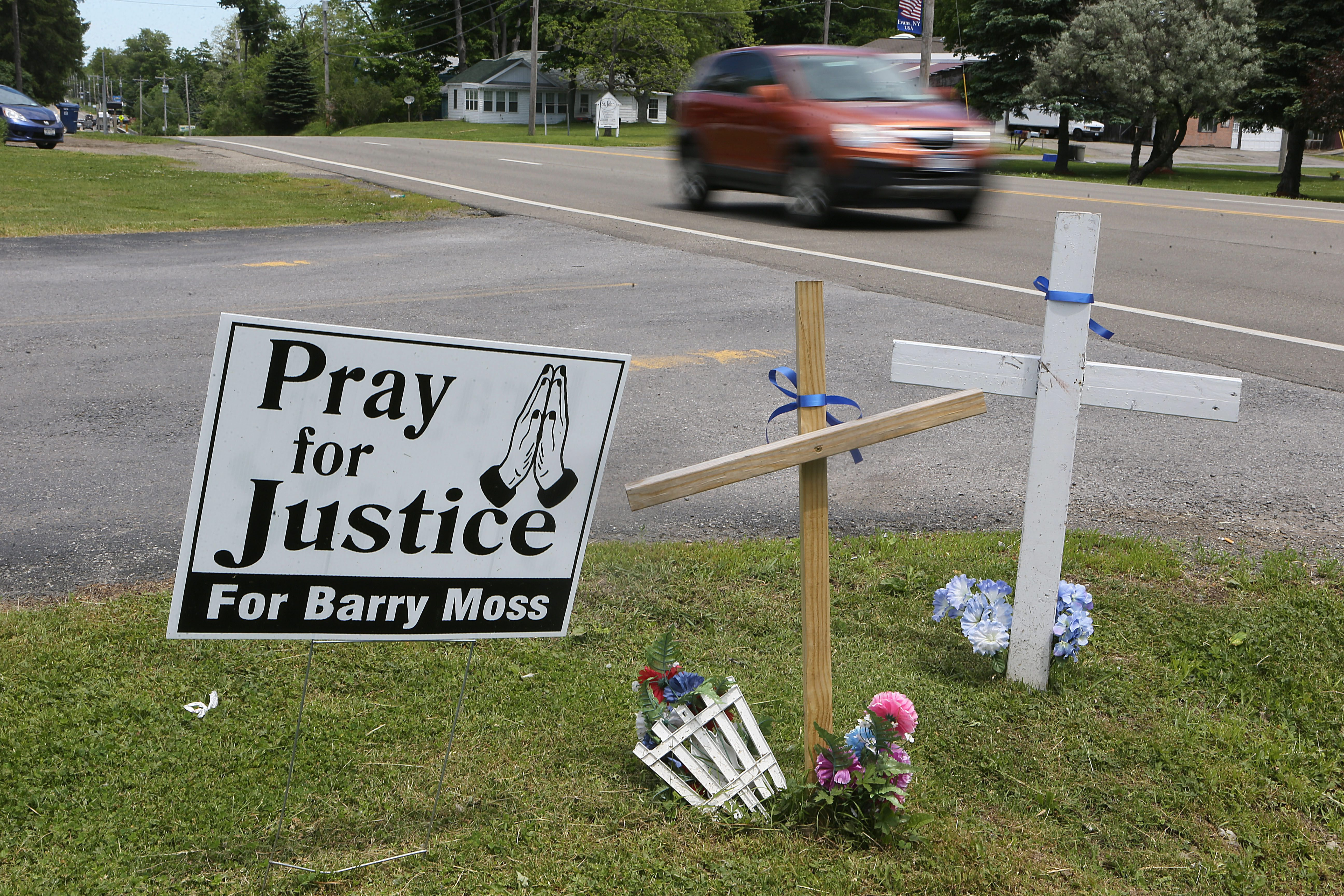 Barry Moss was struck and killed while walking along Route 5 in Evans. (Buffalo News file photo)