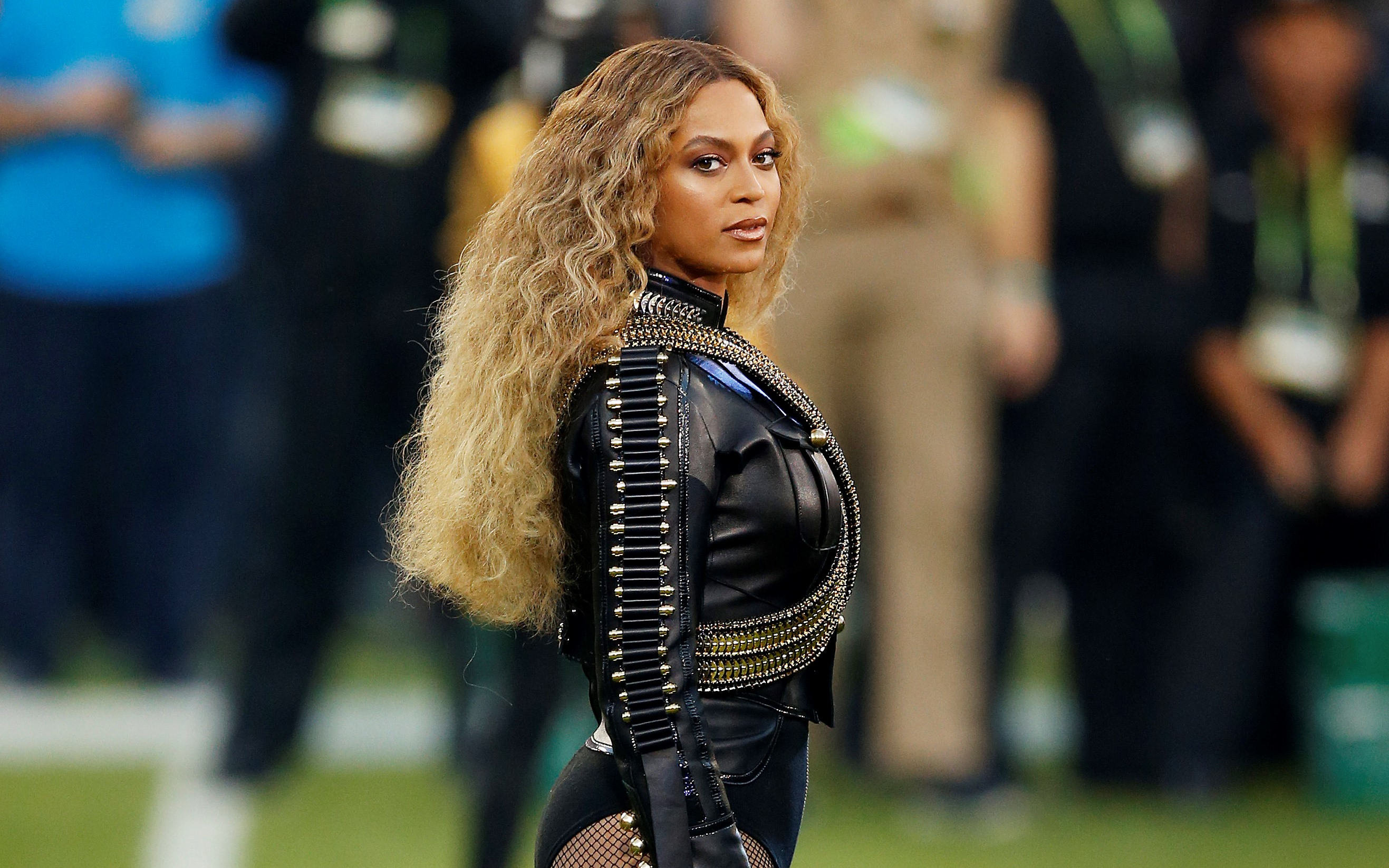 Beyonce earned the most nominations for the 59th annual Grammy Awards. (Getty Images)
