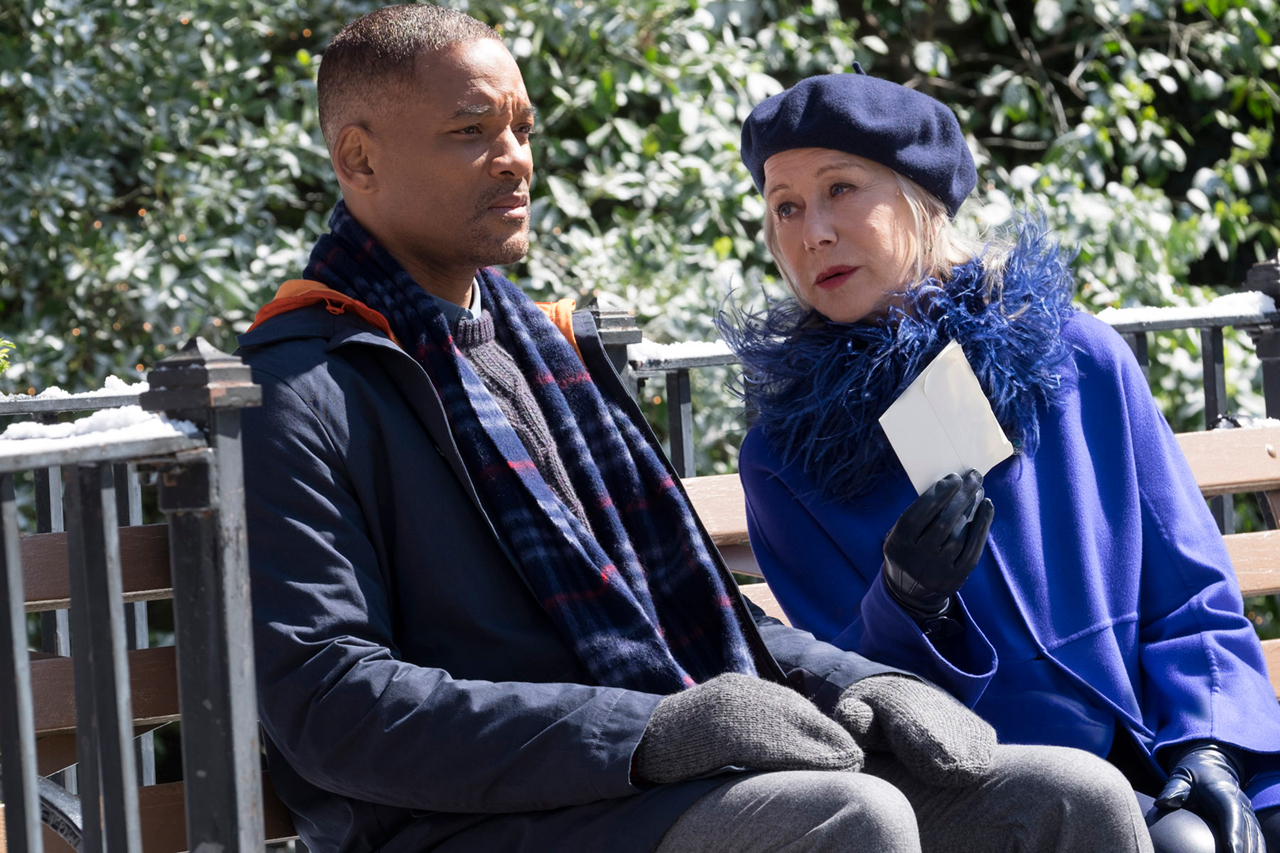 Will Smith and Helen Mirren star in 'Collateral Beauty.'