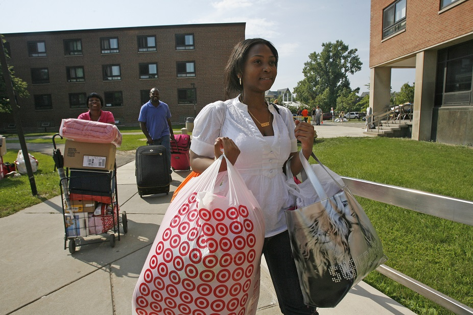 Buffalo ranks the third-best college town among midsize cities in an analysis by Wallet Hub. (Derek Gee/Buffalo News file photo)