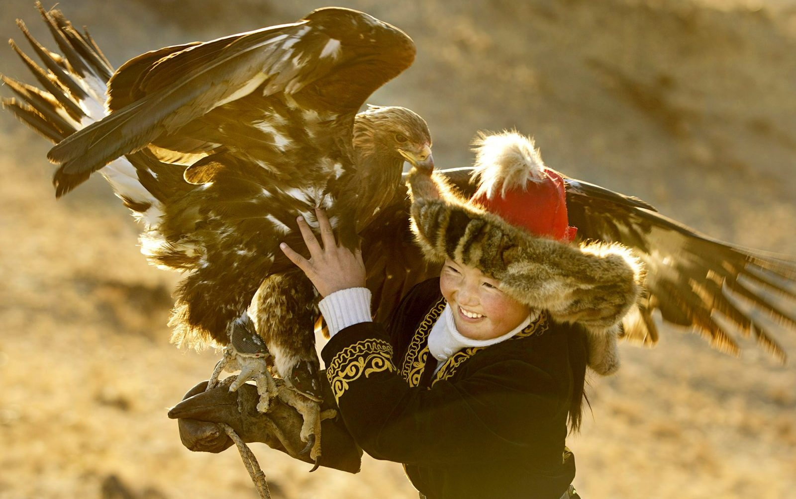 A scene from 'The Eagle Huntress.' (Asher Svidensky/Sony Pictures Classics)