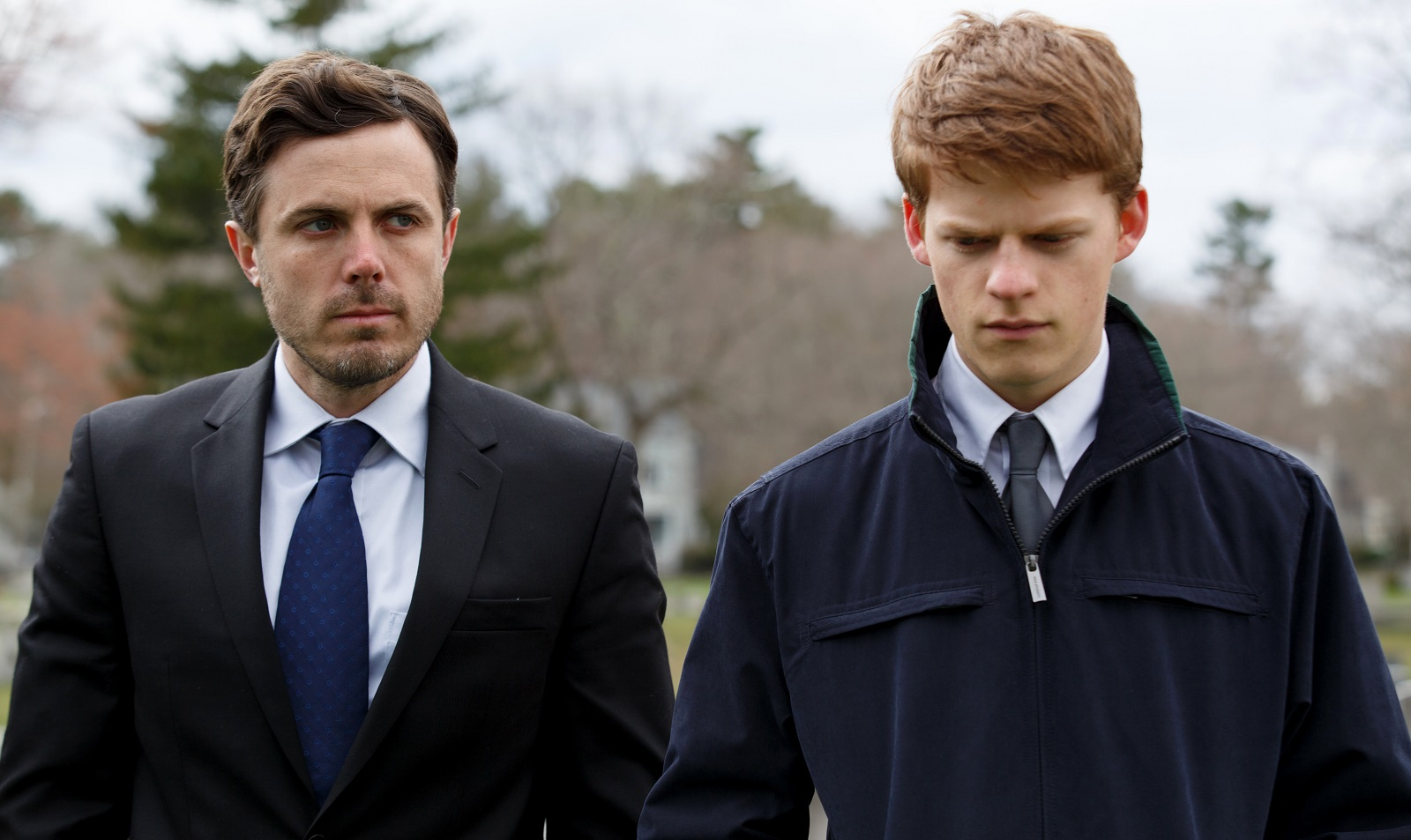 Casey Affleck, left, and Lucas Hedges star in the emotional drama 'Manchester by the Sea.'