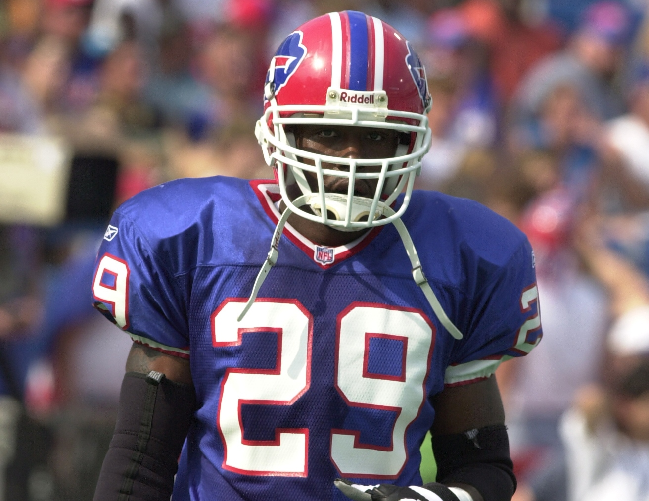 Keion Carpenter was an undrafted signing of the Buffalo Bills in 1999 out of Virginia Tech.  (James P. McCoy/News file photo)