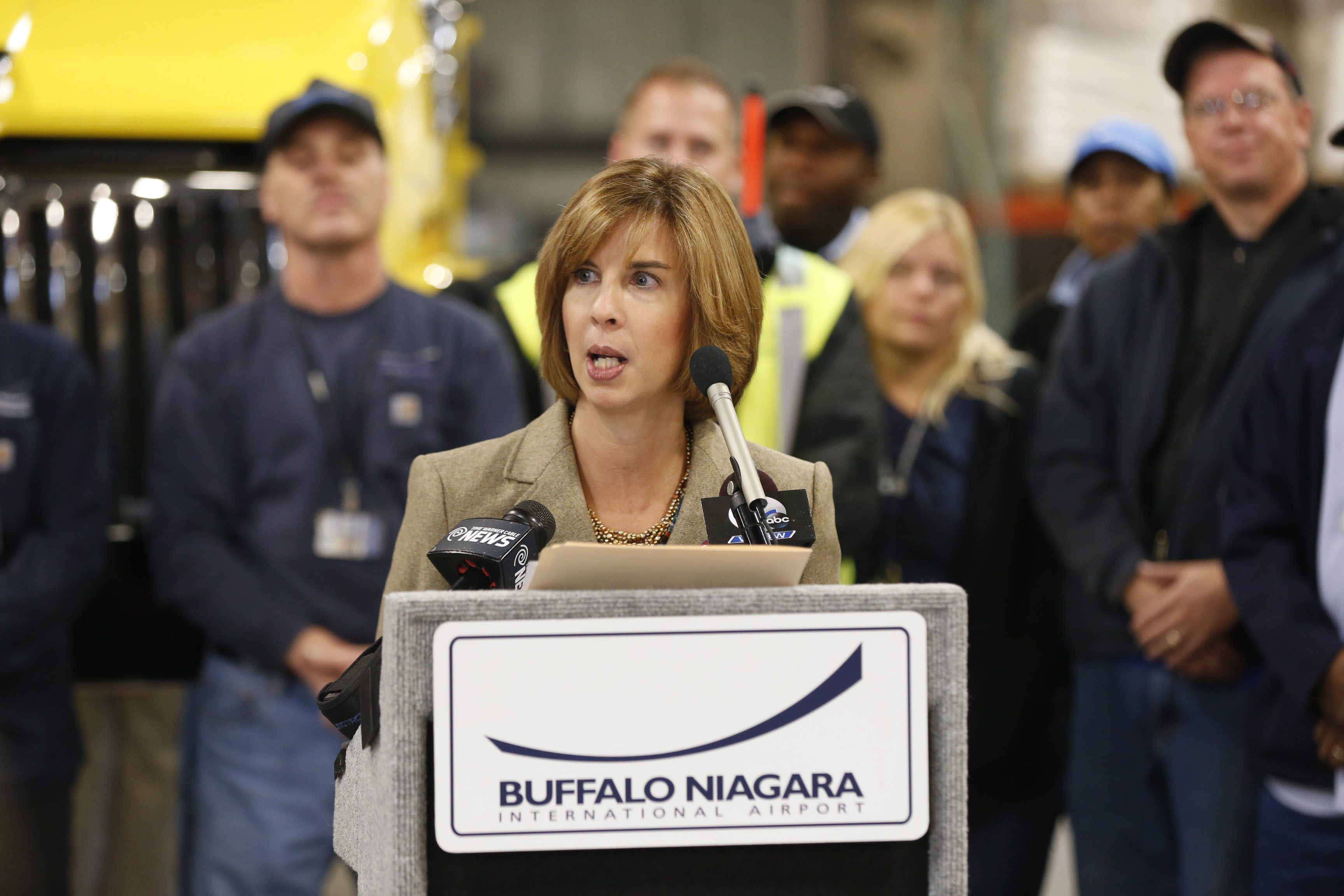 The NFTA union has expressed 'no confidence' in Executive Director Kimberly Minkel after nearly eight years of stalled contract talks. (Robert Kirkham/Buffalo News)