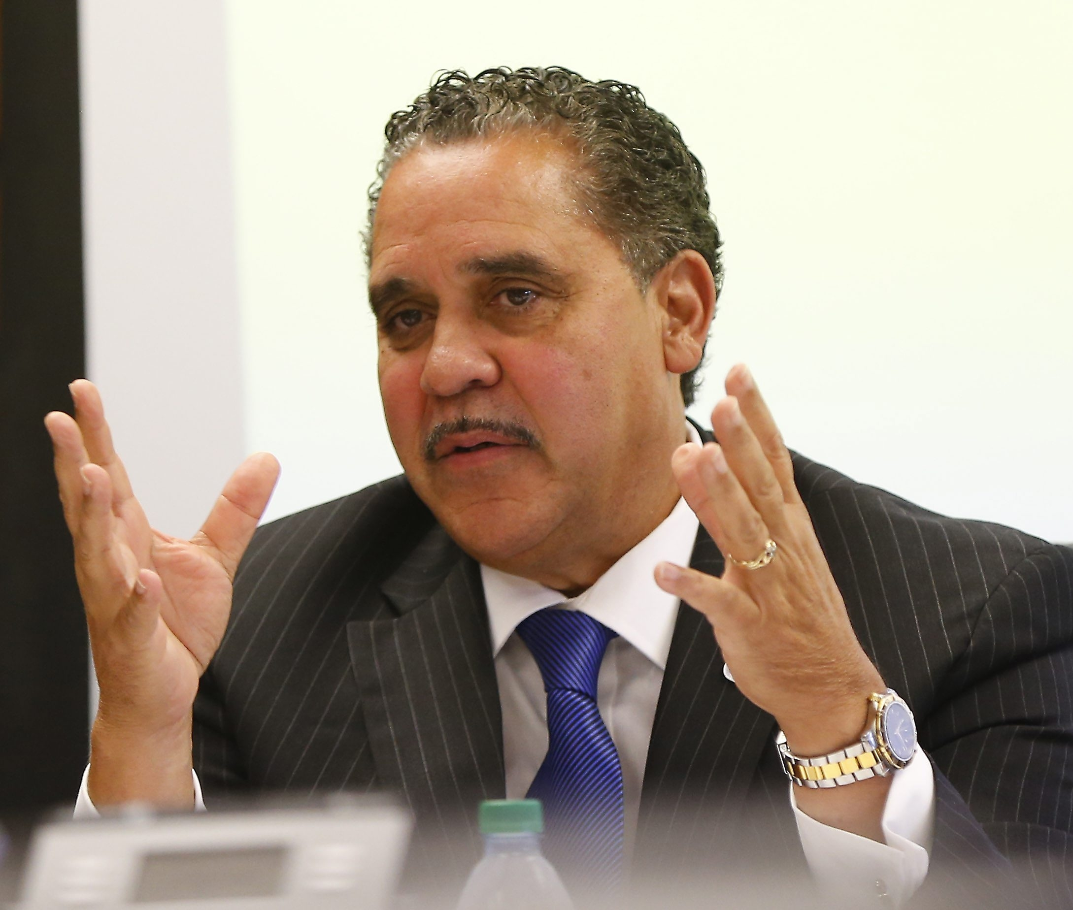 Superintendent Kriner Cash presented a budget with a $10.2 million deficit. (Mark Mulville/Buffalo News file photo)