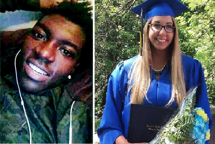 Melanie Aronow, 18, of Amherst and Quincy Harper, 18, of Lockport were killed when they were struck by a car on Shawnee Road last summer.