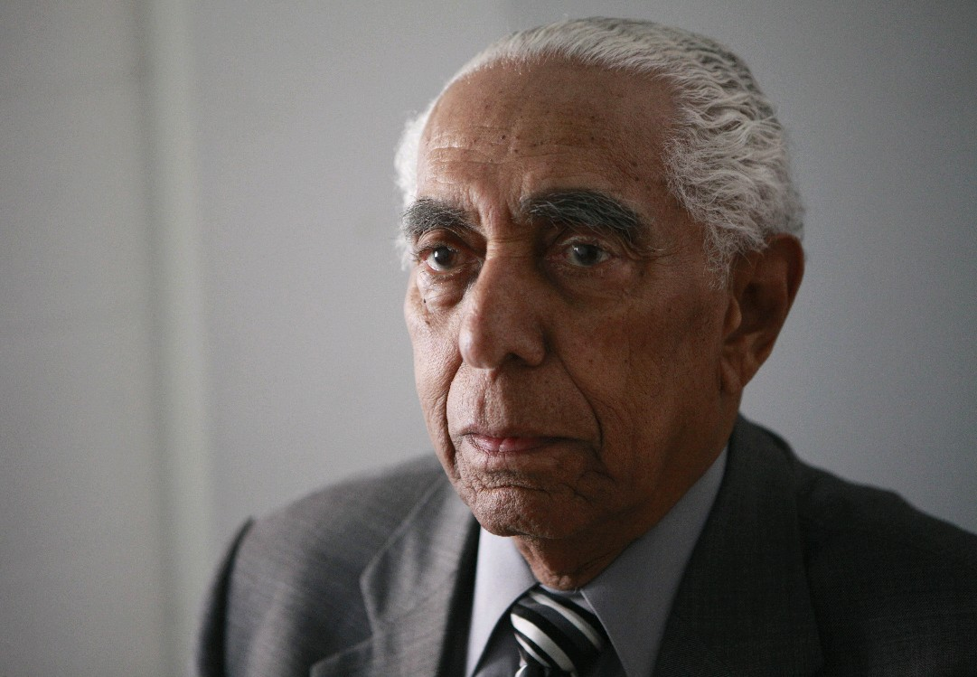 Frank B. Mesiah helped desegregate the Buffalo schools and police during his years with the NAACP, 20 of them as president. (Derek Gee/Buffalo News)