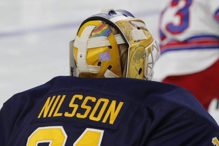 Inside the Sabres: Nilsson proudly waves pride flag