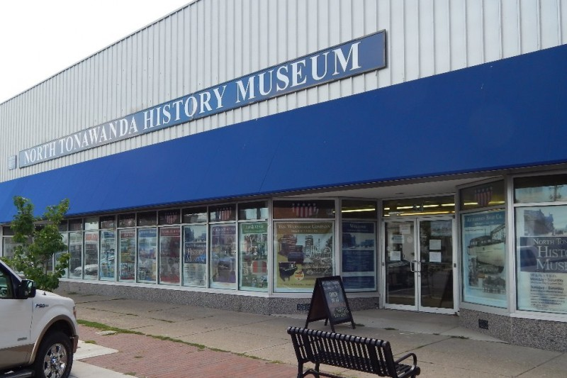 The former North Tonawanda History Museum, at 54 Webster St. (News file photo)