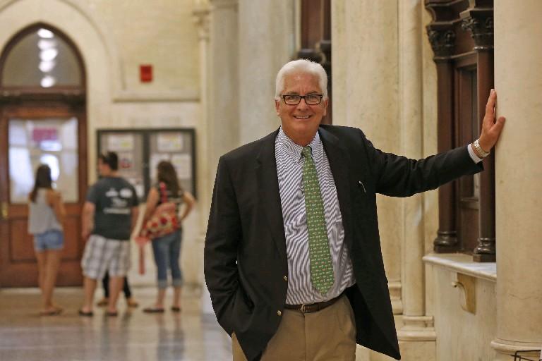 ECC President Jack Quinn's retirement announcement cost the school more than $8,000. (Robert Kirkham/Buffalo News)