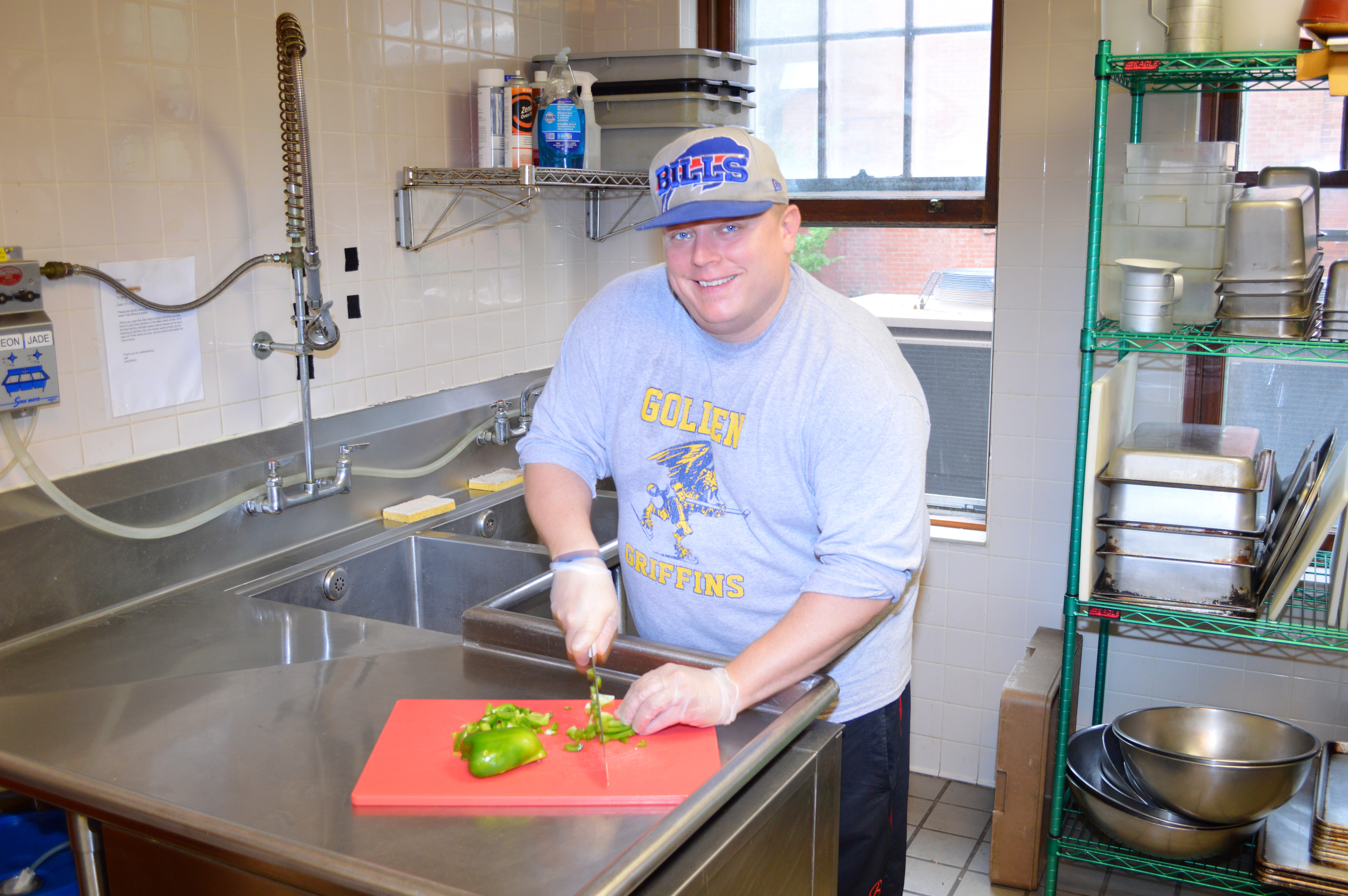 Ron Golden looks to recharge his life with an emphasis on sobriety and cooking.